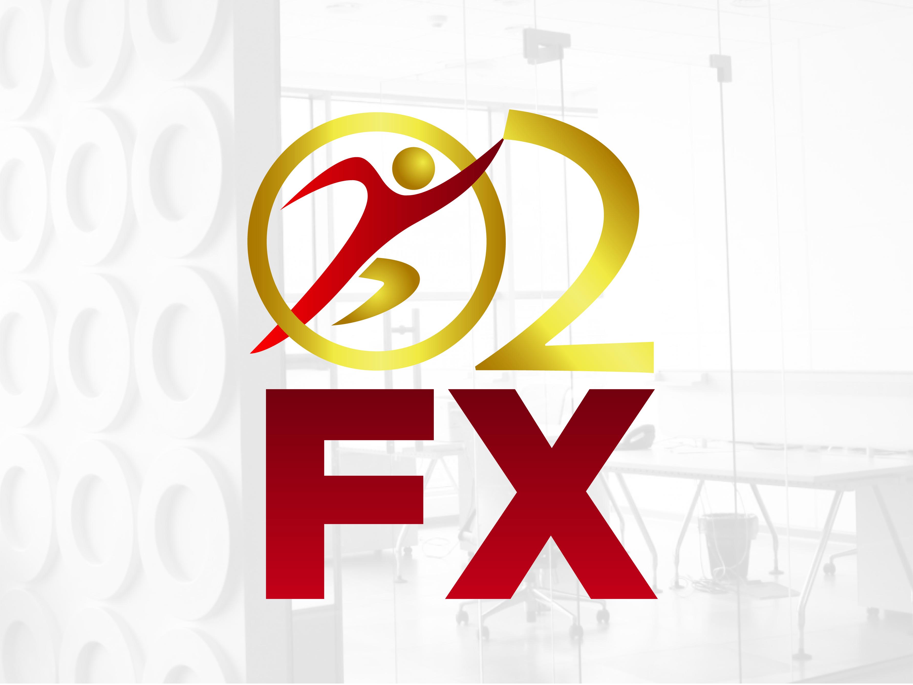 Logo Design by Rob King - Entry No. 85 in the Logo Design Contest Captivating Logo Design for O2FX.