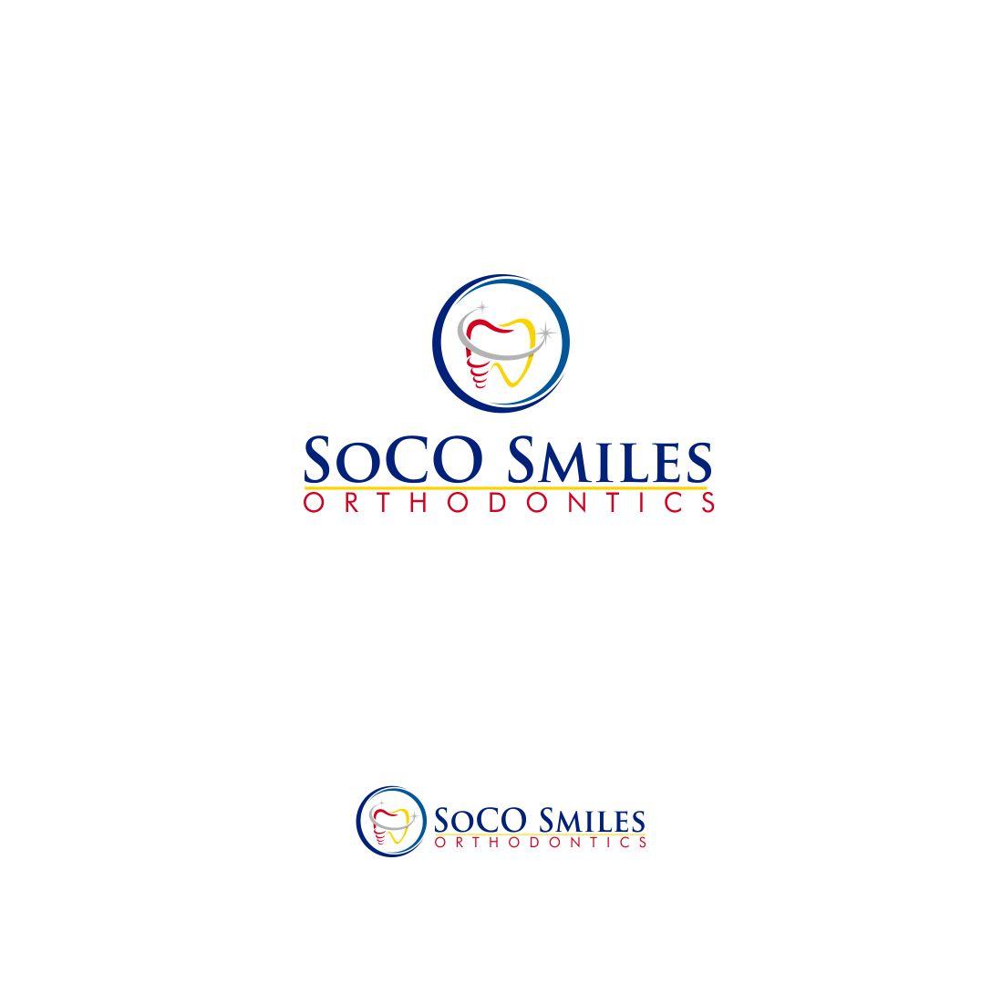 Logo Design by Raymond Garcia - Entry No. 7 in the Logo Design Contest Unique Logo Design Wanted for SoCO Smiles Orthodontics.