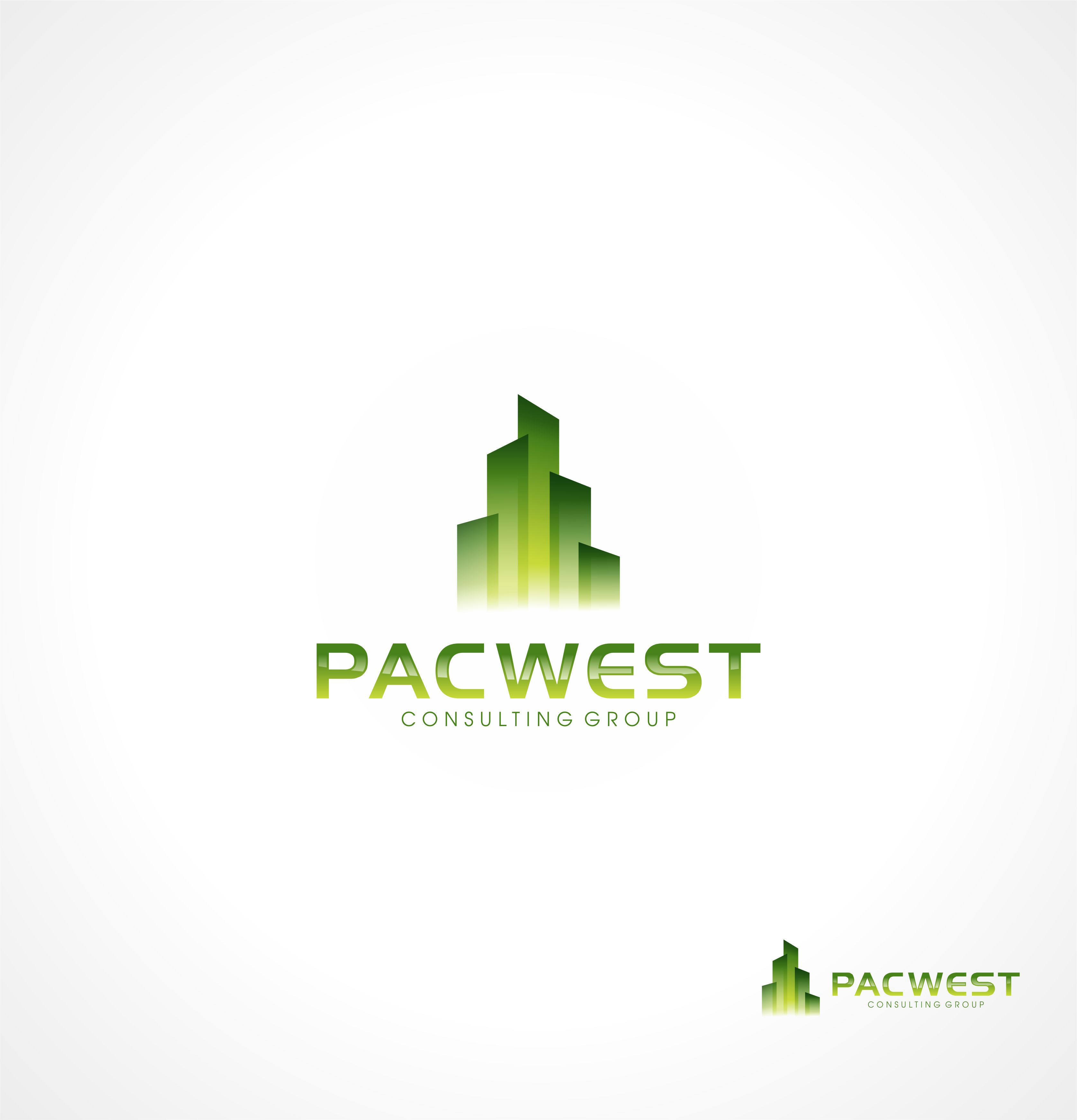Logo Design by Raymond Garcia - Entry No. 1 in the Logo Design Contest Imaginative Logo Design for Pacwest Consulting Group.