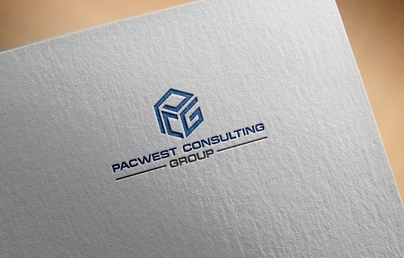 Logo Design by Private User - Entry No. 2 in the Logo Design Contest Imaginative Logo Design for Pacwest Consulting Group.