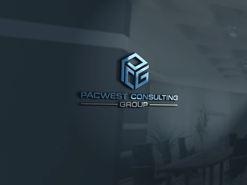 Logo Design by Private User - Entry No. 4 in the Logo Design Contest Imaginative Logo Design for Pacwest Consulting Group.