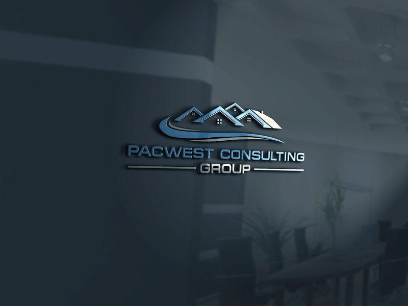 Logo Design by Private User - Entry No. 5 in the Logo Design Contest Imaginative Logo Design for Pacwest Consulting Group.