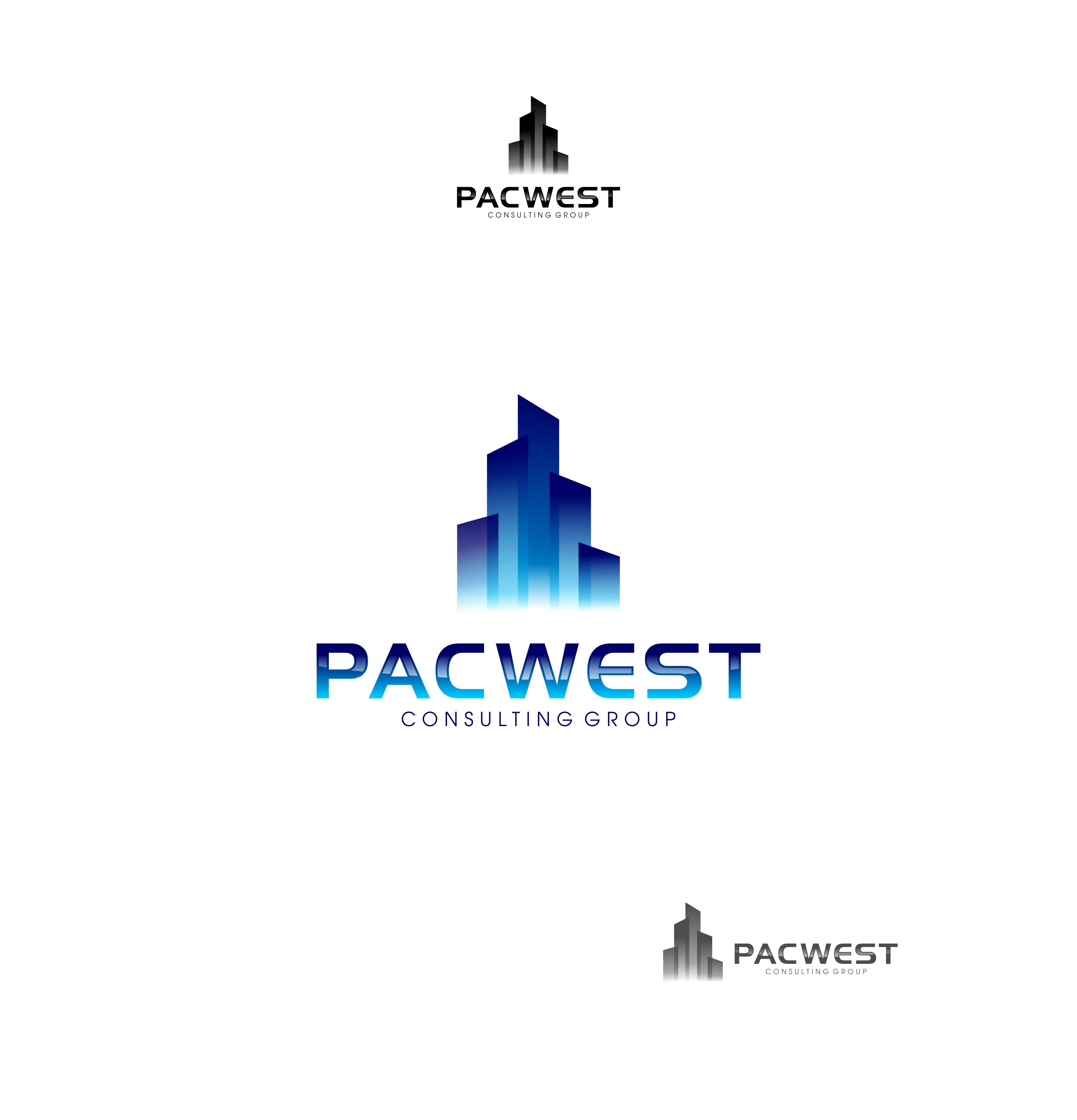 Logo Design by Raymond Garcia - Entry No. 6 in the Logo Design Contest Imaginative Logo Design for Pacwest Consulting Group.