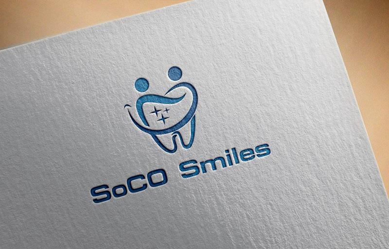 Logo Design by Private User - Entry No. 11 in the Logo Design Contest Unique Logo Design Wanted for SoCO Smiles Orthodontics.