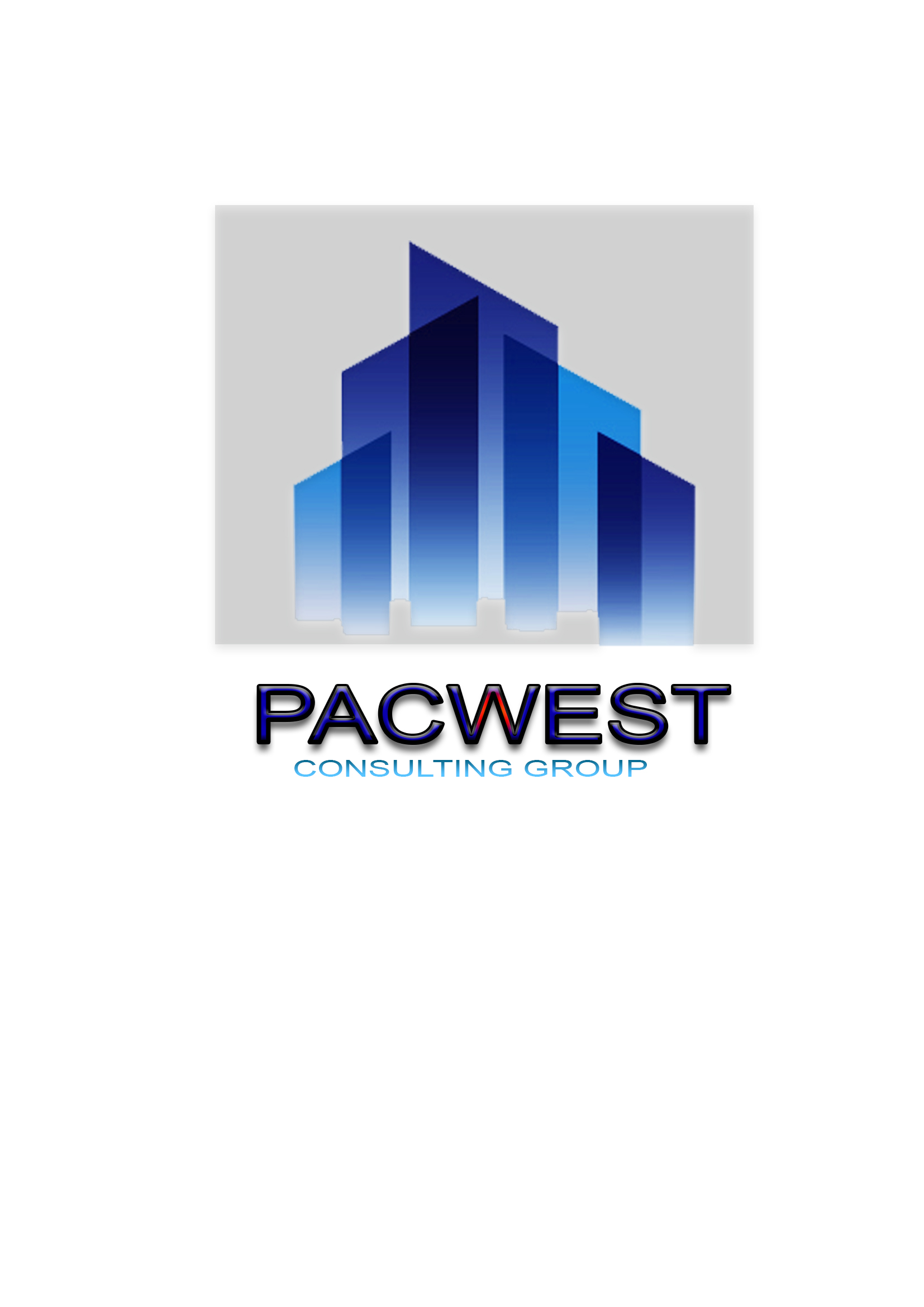 Logo Design by Niño rodel Adan - Entry No. 11 in the Logo Design Contest Imaginative Logo Design for Pacwest Consulting Group.