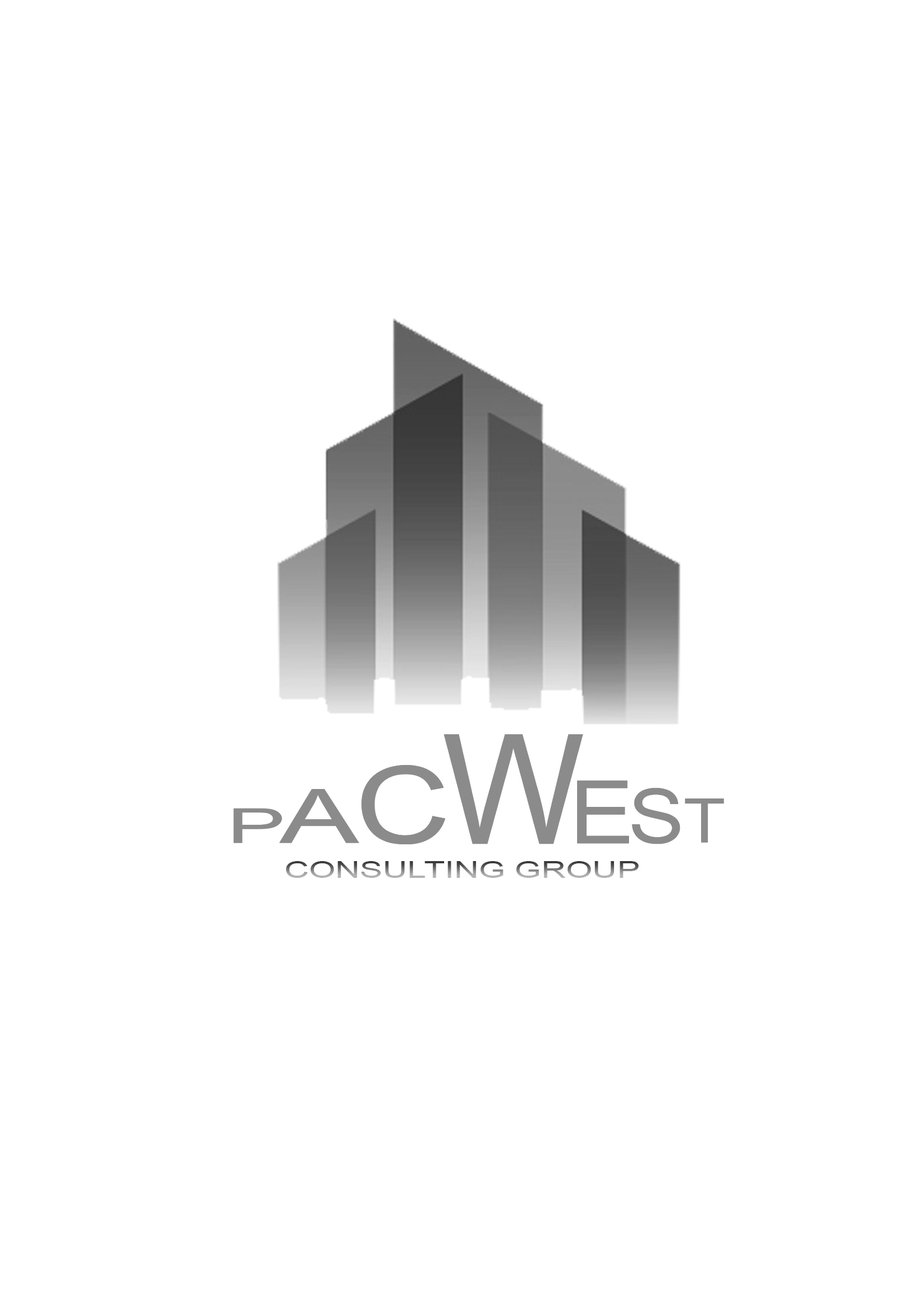 Logo Design by Niño rodel Adan - Entry No. 12 in the Logo Design Contest Imaginative Logo Design for Pacwest Consulting Group.