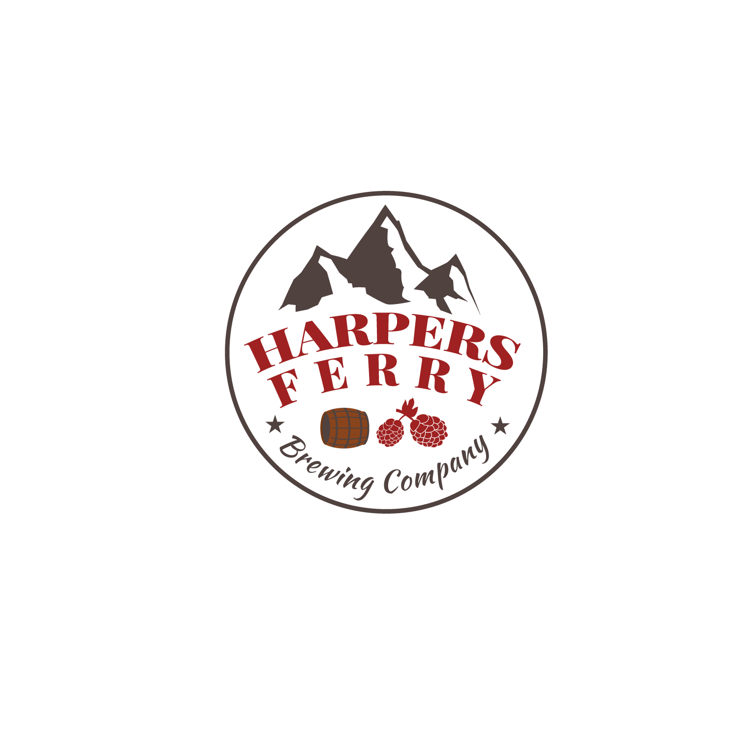Logo Design by Bac Huu - Entry No. 15 in the Logo Design Contest Unique Logo Design Wanted for Harpers ferry brewing company.