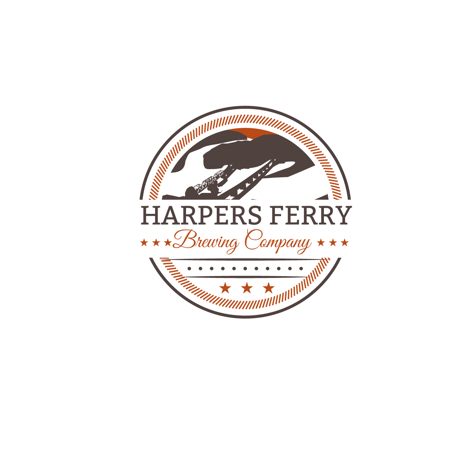 Logo Design by Bac Huu - Entry No. 16 in the Logo Design Contest Unique Logo Design Wanted for Harpers ferry brewing company.