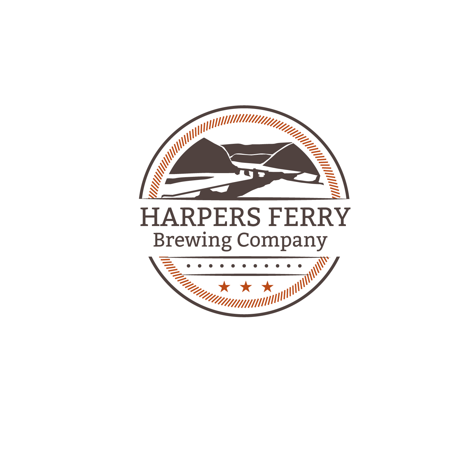 Logo Design by Bac Huu - Entry No. 17 in the Logo Design Contest Unique Logo Design Wanted for Harpers ferry brewing company.