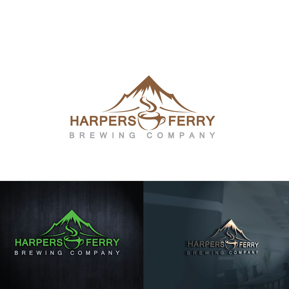 Logo Design by Private User - Entry No. 18 in the Logo Design Contest Unique Logo Design Wanted for Harpers ferry brewing company.