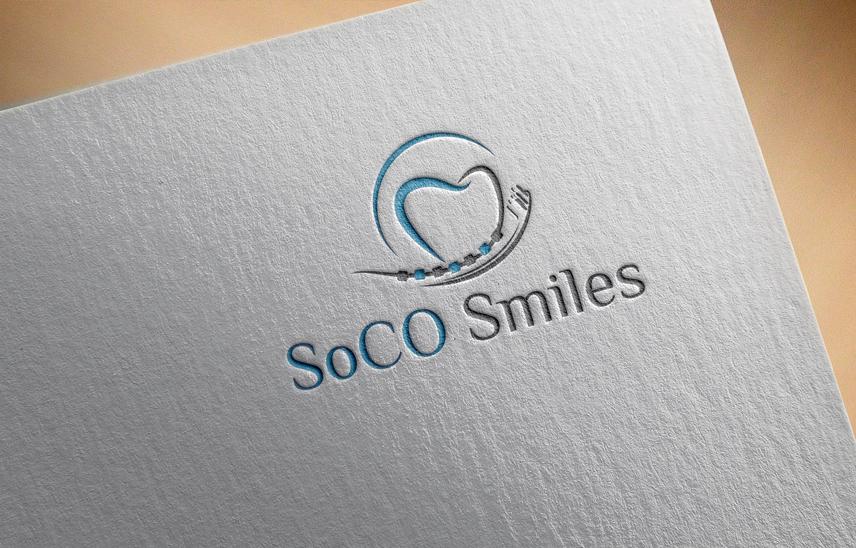 Logo Design by Private User - Entry No. 15 in the Logo Design Contest Unique Logo Design Wanted for SoCO Smiles Orthodontics.