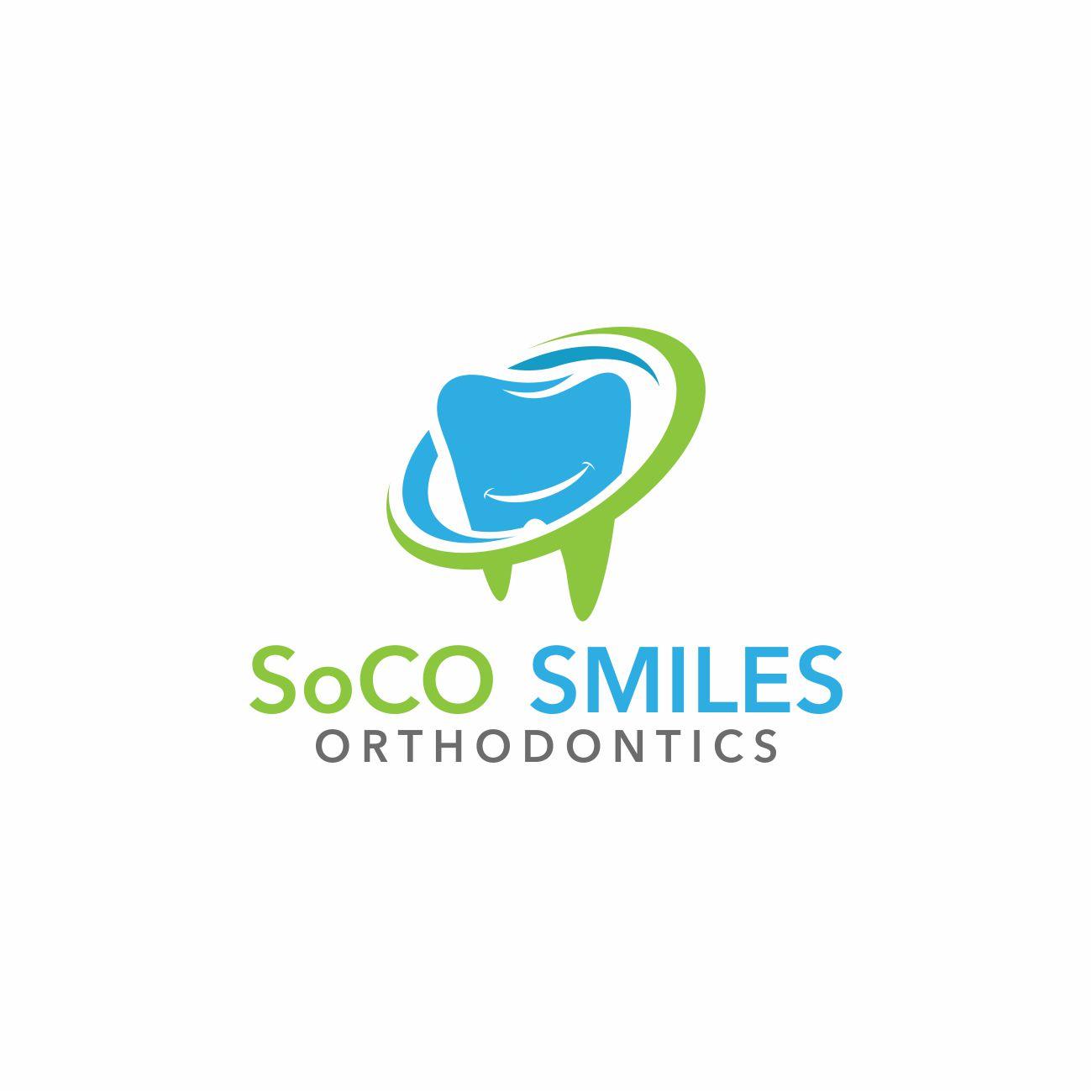 Logo Design by RasYa Muhammad Athaya - Entry No. 19 in the Logo Design Contest Unique Logo Design Wanted for SoCO Smiles Orthodontics.