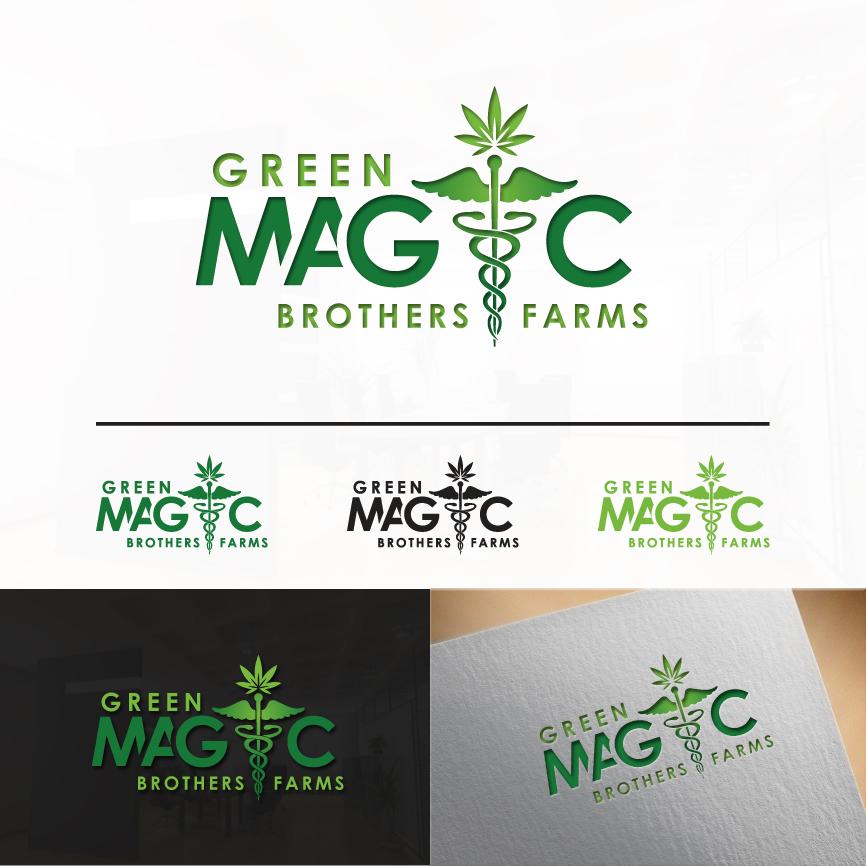 Logo Design by RasYa Muhammad Athaya - Entry No. 84 in the Logo Design Contest Green Brothers Farm Logo Design.