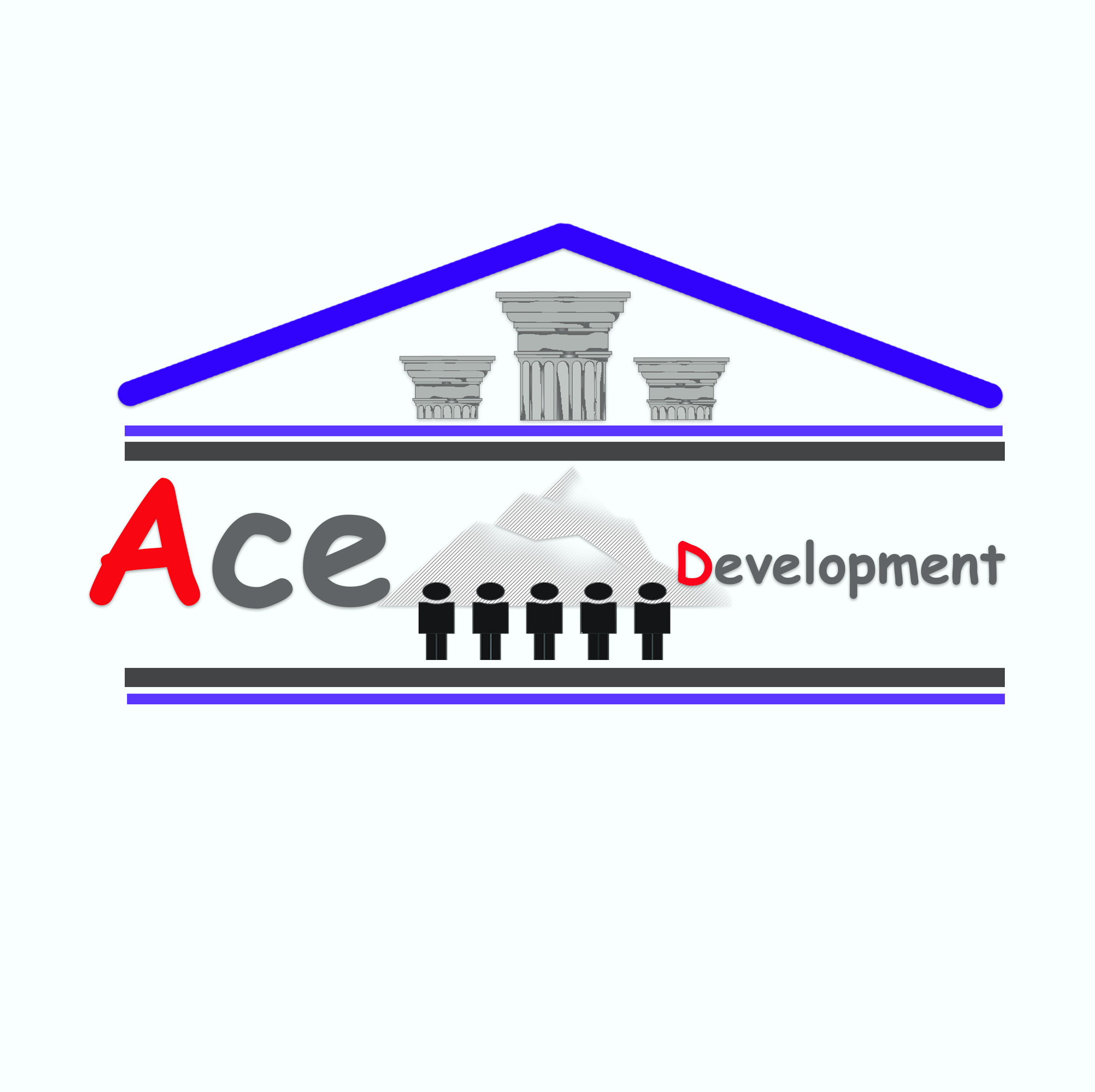 Logo Design by Niño rodel Adan - Entry No. 9 in the Logo Design Contest Fun Logo Design for Ace development.