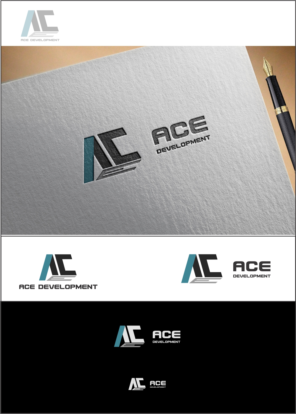 Logo Design by ian69 - Entry No. 11 in the Logo Design Contest Fun Logo Design for Ace development.