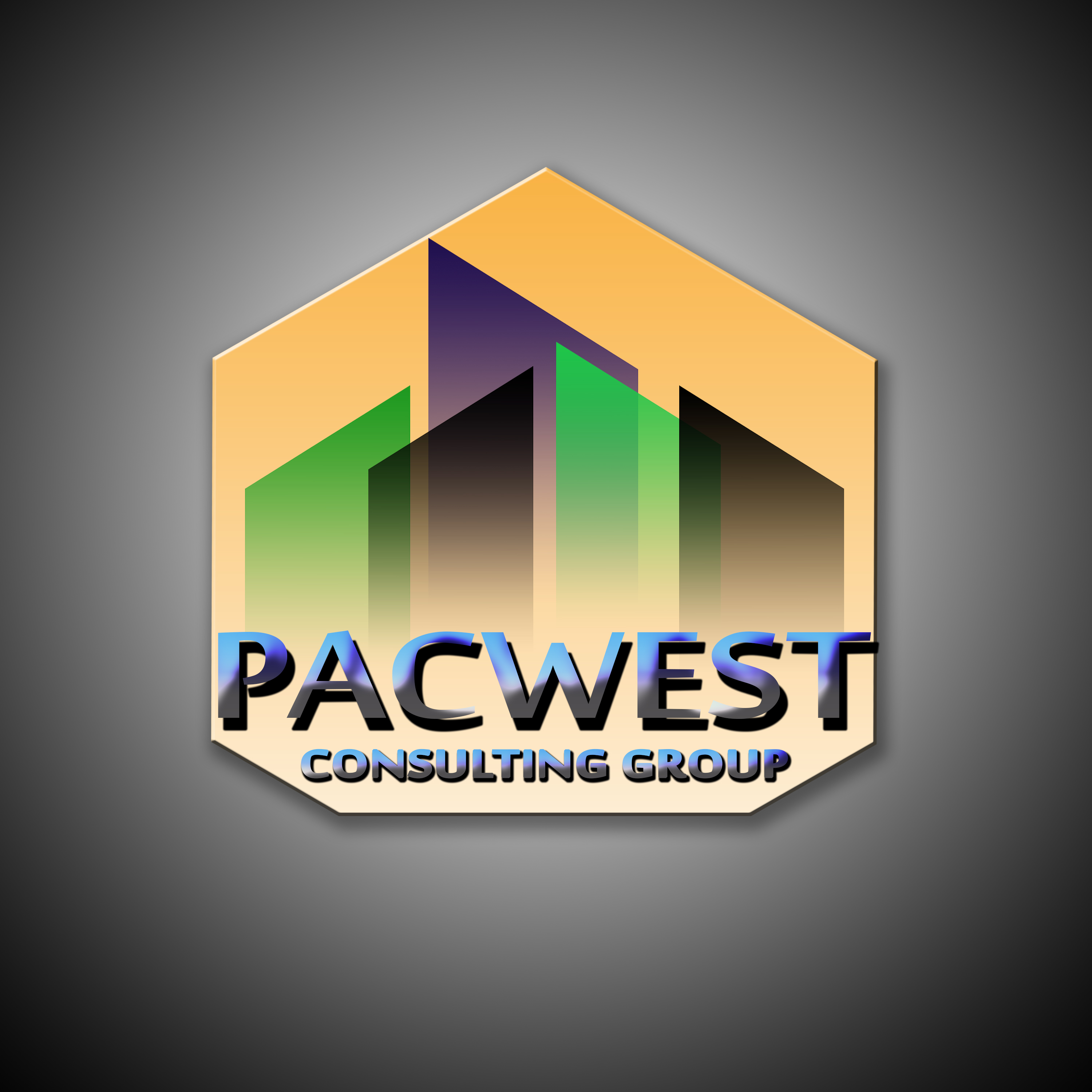 Logo Design by Bolkiah Verdadero - Entry No. 16 in the Logo Design Contest Imaginative Logo Design for Pacwest Consulting Group.