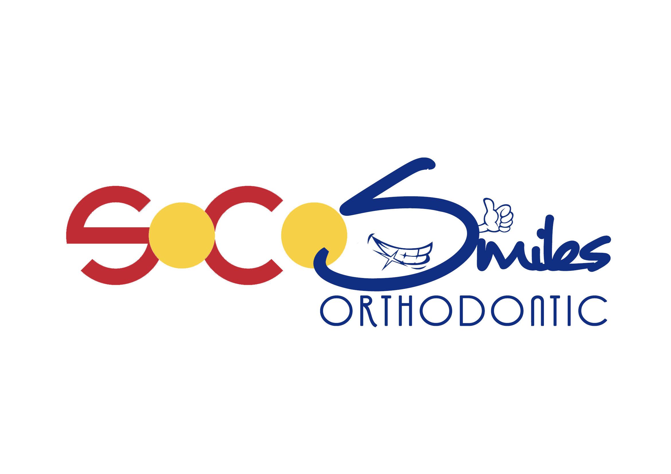 Logo Design by JR Cantos - Entry No. 21 in the Logo Design Contest Unique Logo Design Wanted for SoCO Smiles Orthodontics.