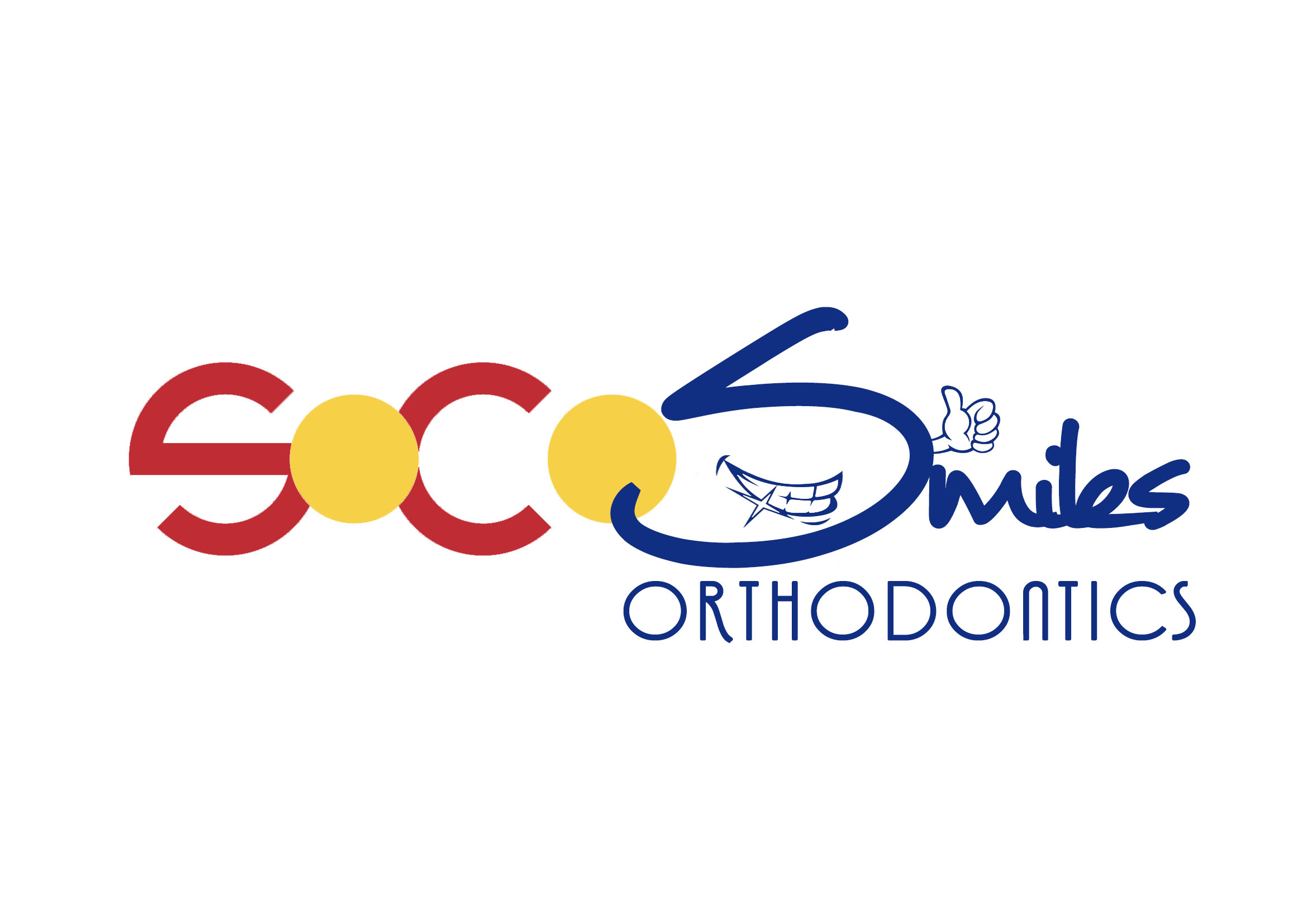 Logo Design by JR Cantos - Entry No. 22 in the Logo Design Contest Unique Logo Design Wanted for SoCO Smiles Orthodontics.