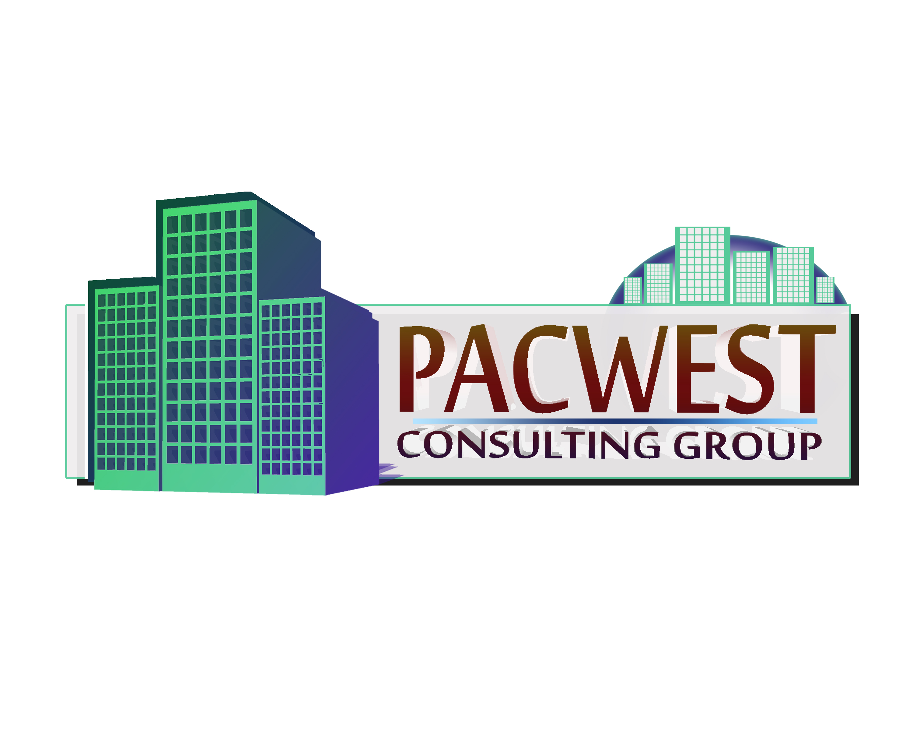 Logo Design by Bolkiah Verdadero - Entry No. 17 in the Logo Design Contest Imaginative Logo Design for Pacwest Consulting Group.