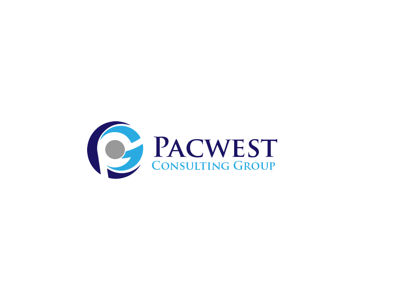 Logo Design by Private User - Entry No. 18 in the Logo Design Contest Imaginative Logo Design for Pacwest Consulting Group.