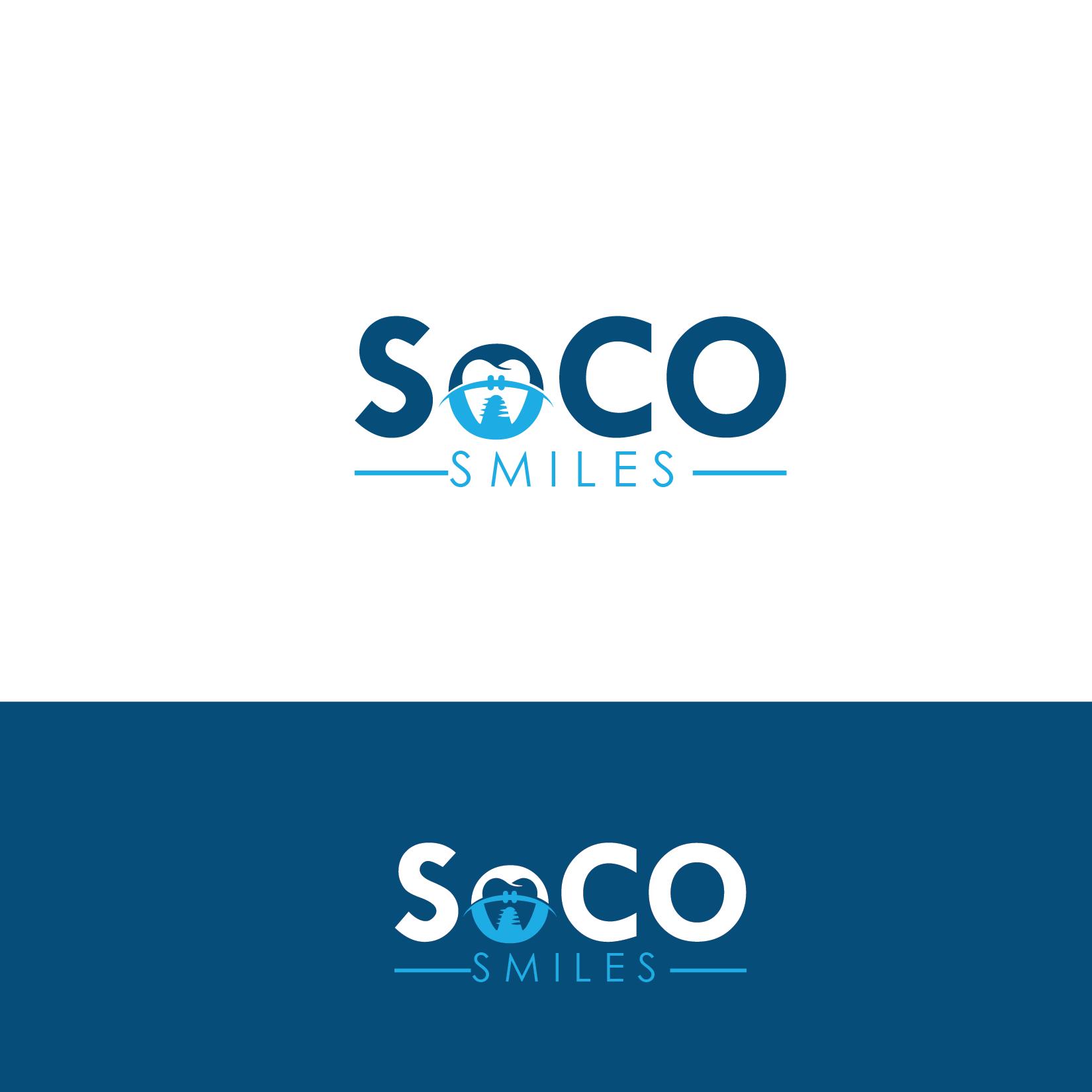 Logo Design by Private User - Entry No. 25 in the Logo Design Contest Unique Logo Design Wanted for SoCO Smiles Orthodontics.