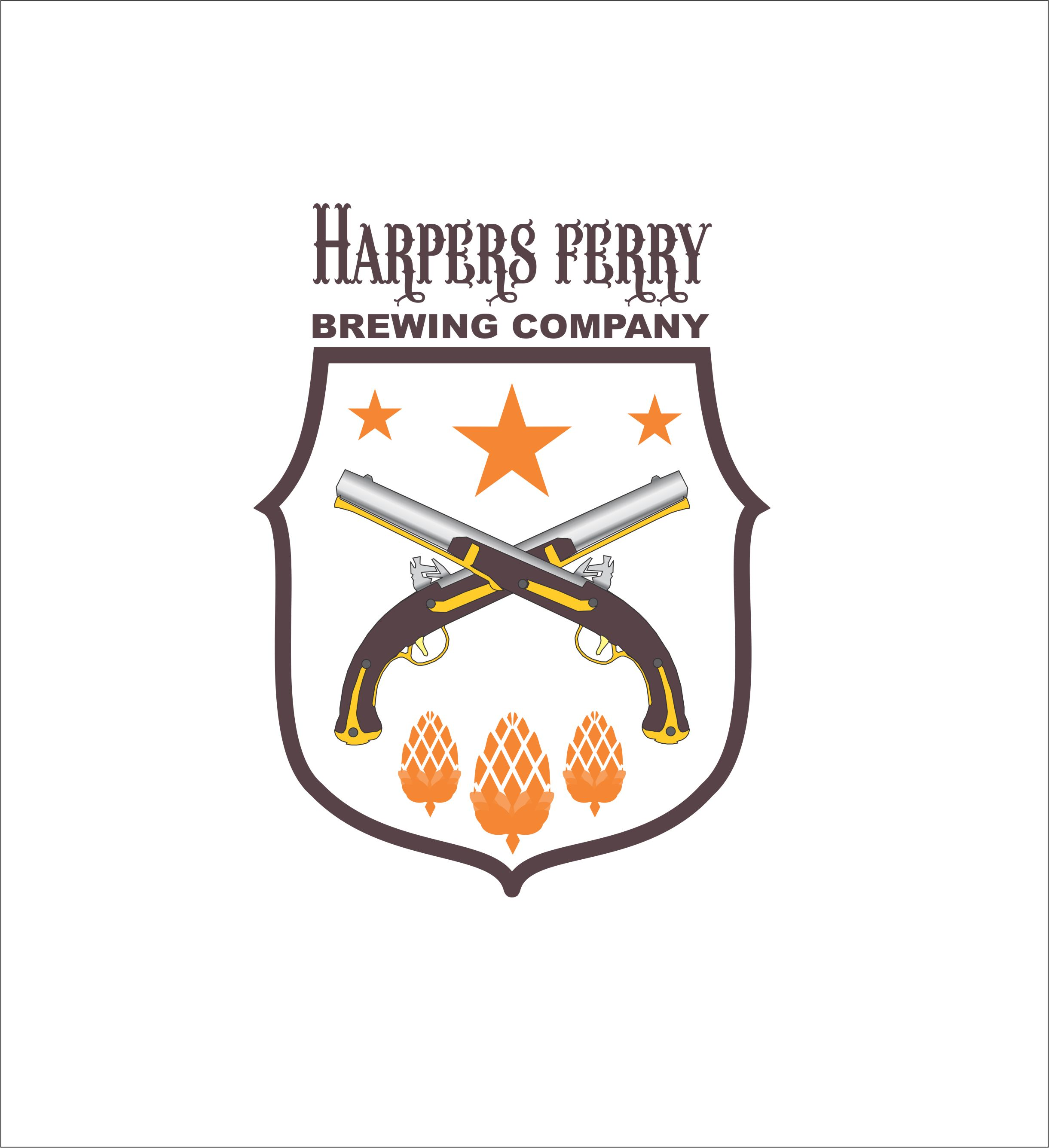 Logo Design by Nikola Kapunac - Entry No. 37 in the Logo Design Contest Unique Logo Design Wanted for Harpers ferry brewing company.