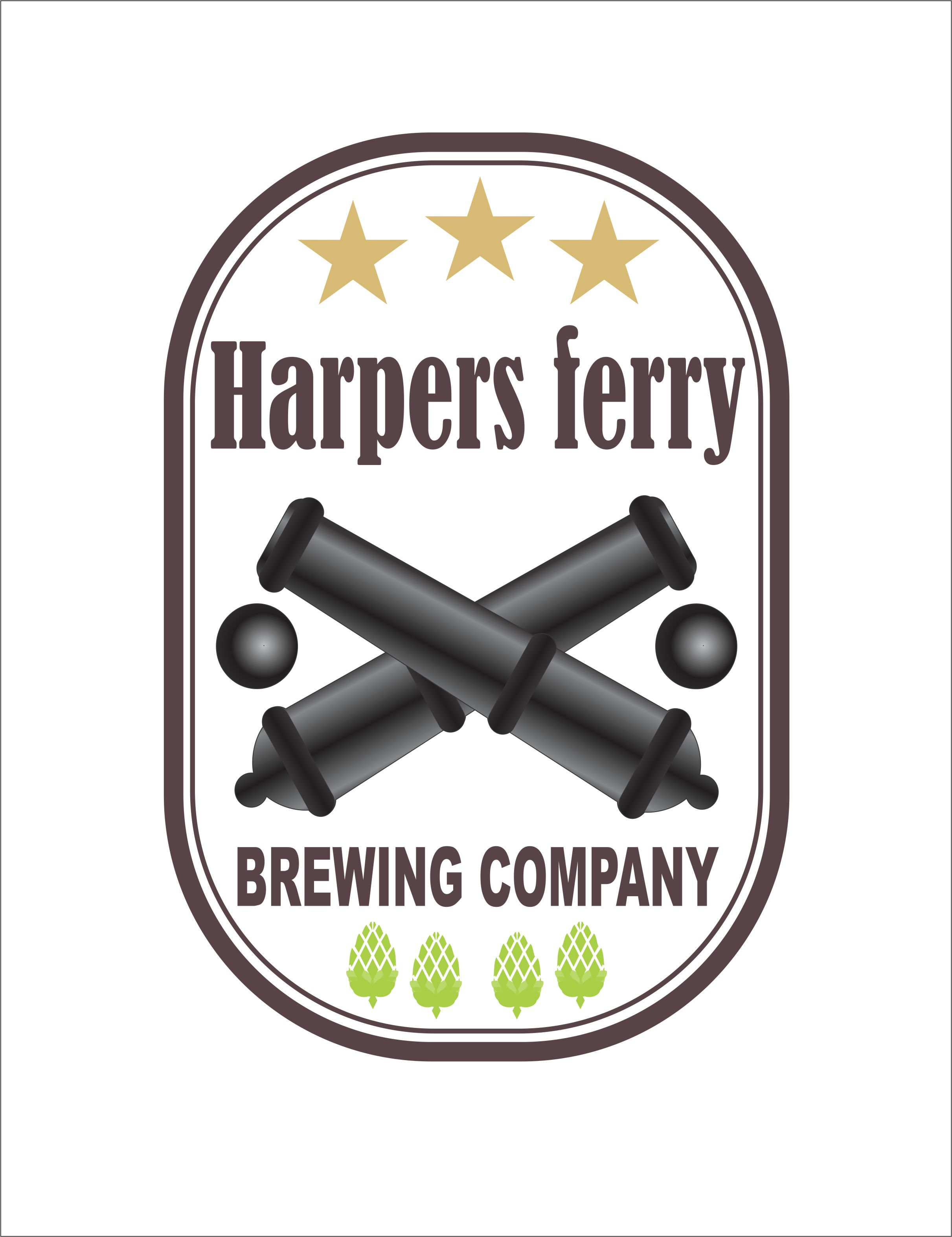 Logo Design by Nikola Kapunac - Entry No. 43 in the Logo Design Contest Unique Logo Design Wanted for Harpers ferry brewing company.