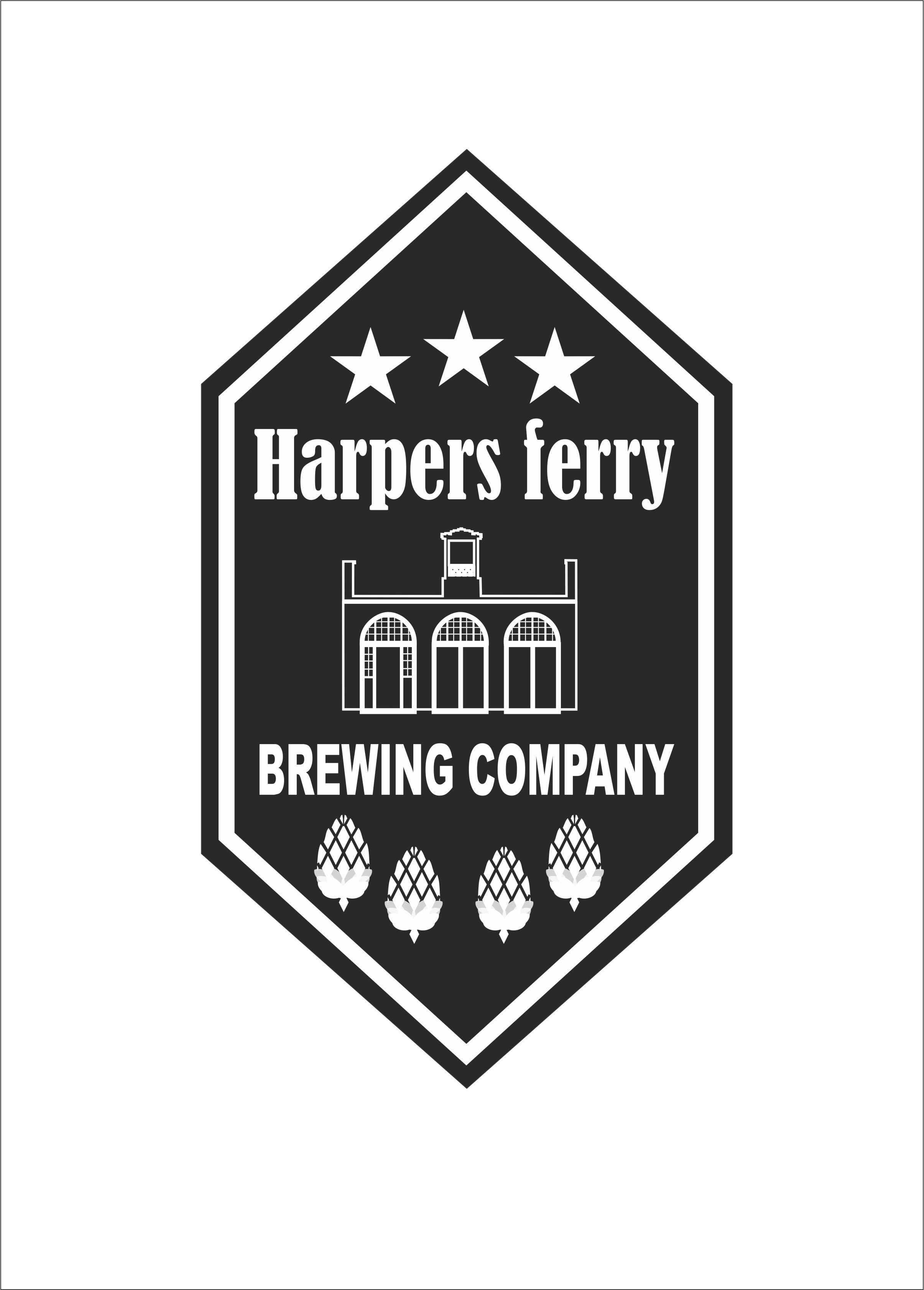 Logo Design by Nikola Kapunac - Entry No. 45 in the Logo Design Contest Unique Logo Design Wanted for Harpers ferry brewing company.