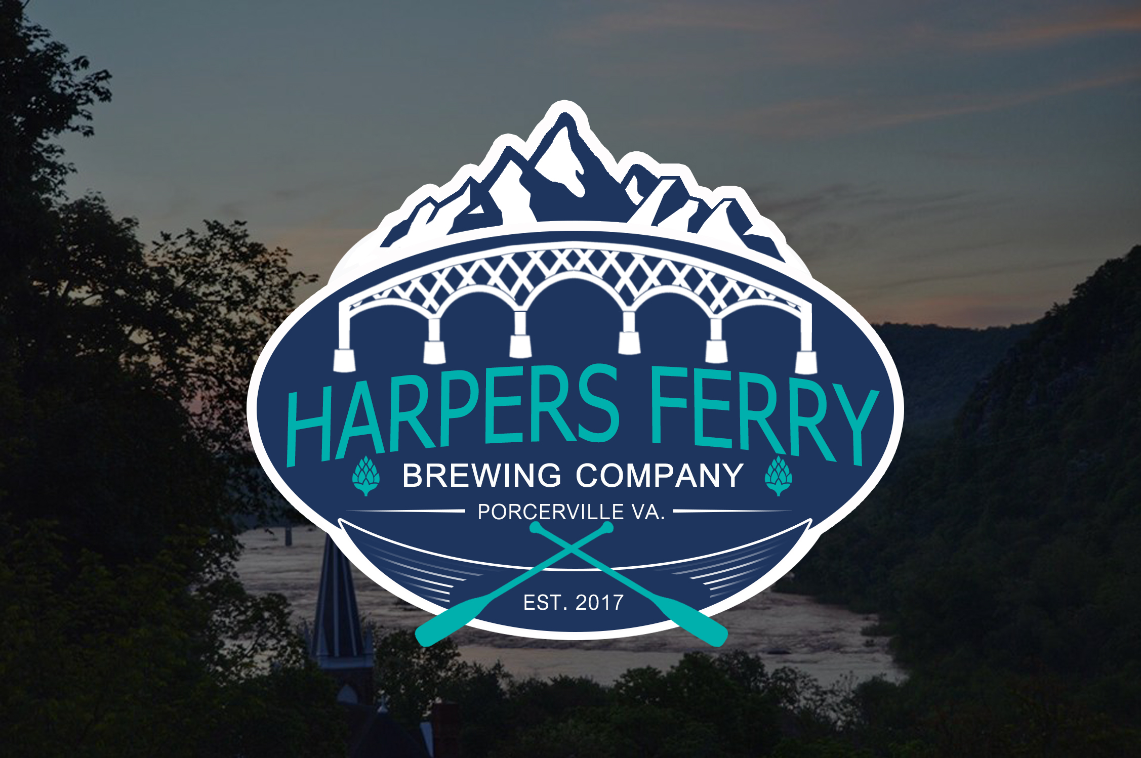 Logo Design by JSDESIGNGROUP - Entry No. 49 in the Logo Design Contest Unique Logo Design Wanted for Harpers ferry brewing company.