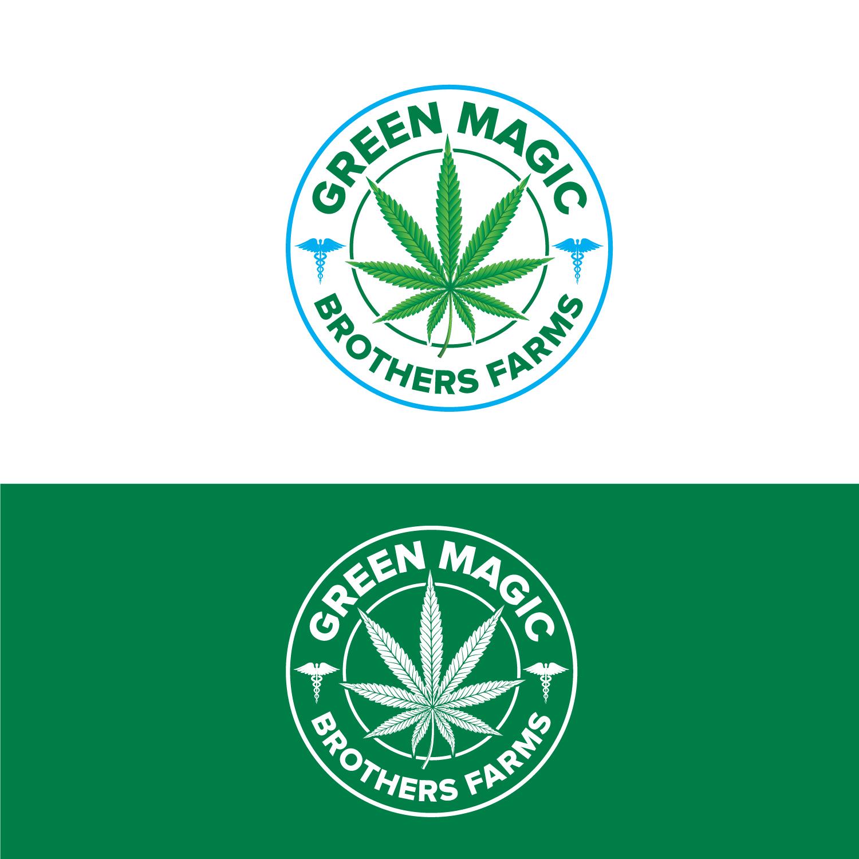 Logo Design by Bac Huu - Entry No. 88 in the Logo Design Contest Green Brothers Farm Logo Design.