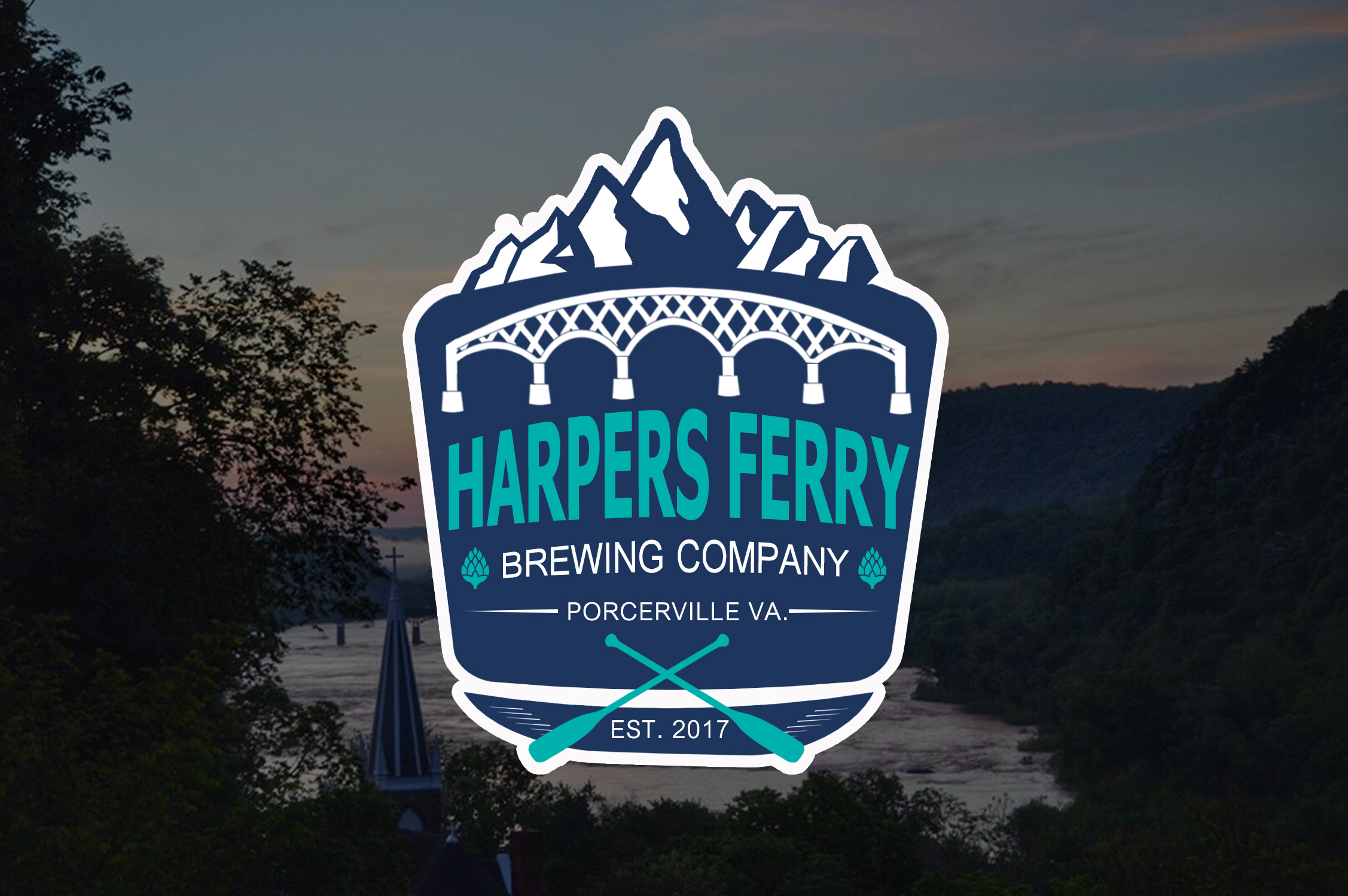 Logo Design by JSDESIGNGROUP - Entry No. 50 in the Logo Design Contest Unique Logo Design Wanted for Harpers ferry brewing company.