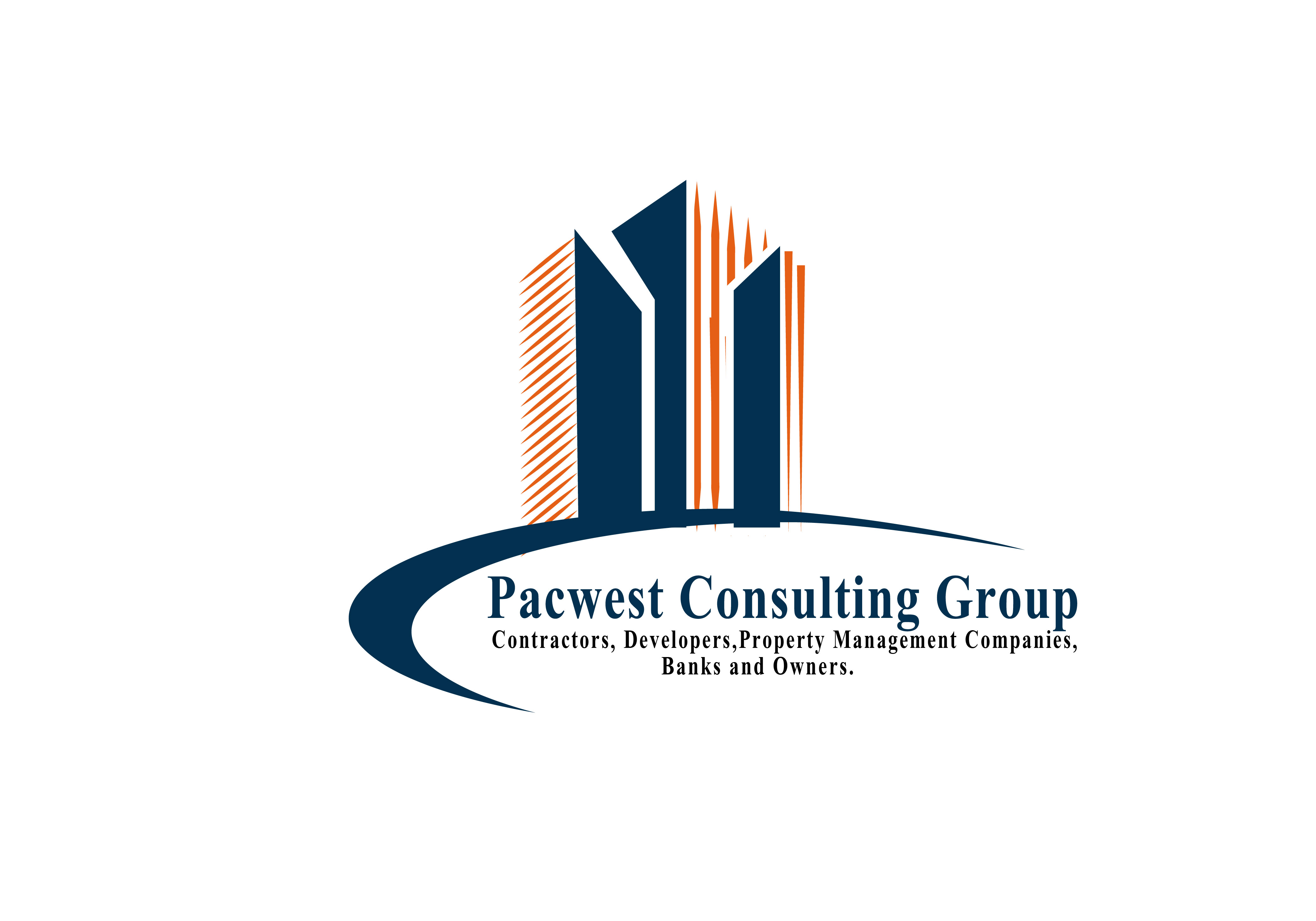 Logo Design by Bilal Baloch - Entry No. 20 in the Logo Design Contest Imaginative Logo Design for Pacwest Consulting Group.
