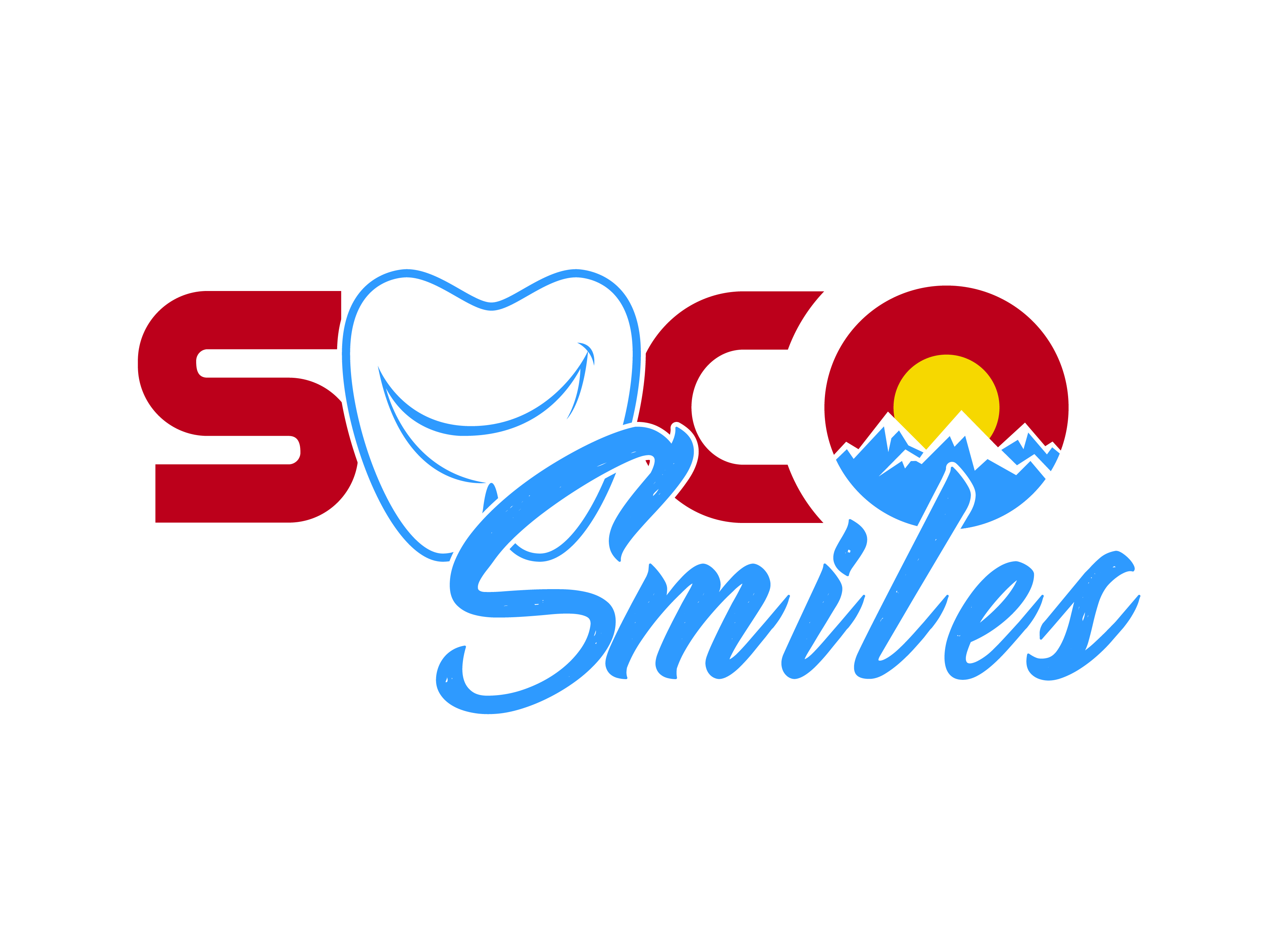 Logo Design by Rob King - Entry No. 38 in the Logo Design Contest Unique Logo Design Wanted for SoCO Smiles Orthodontics.