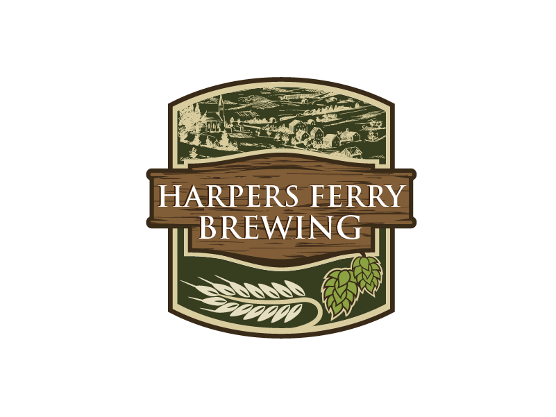 Logo Design by brands_in - Entry No. 54 in the Logo Design Contest Unique Logo Design Wanted for Harpers ferry brewing company.