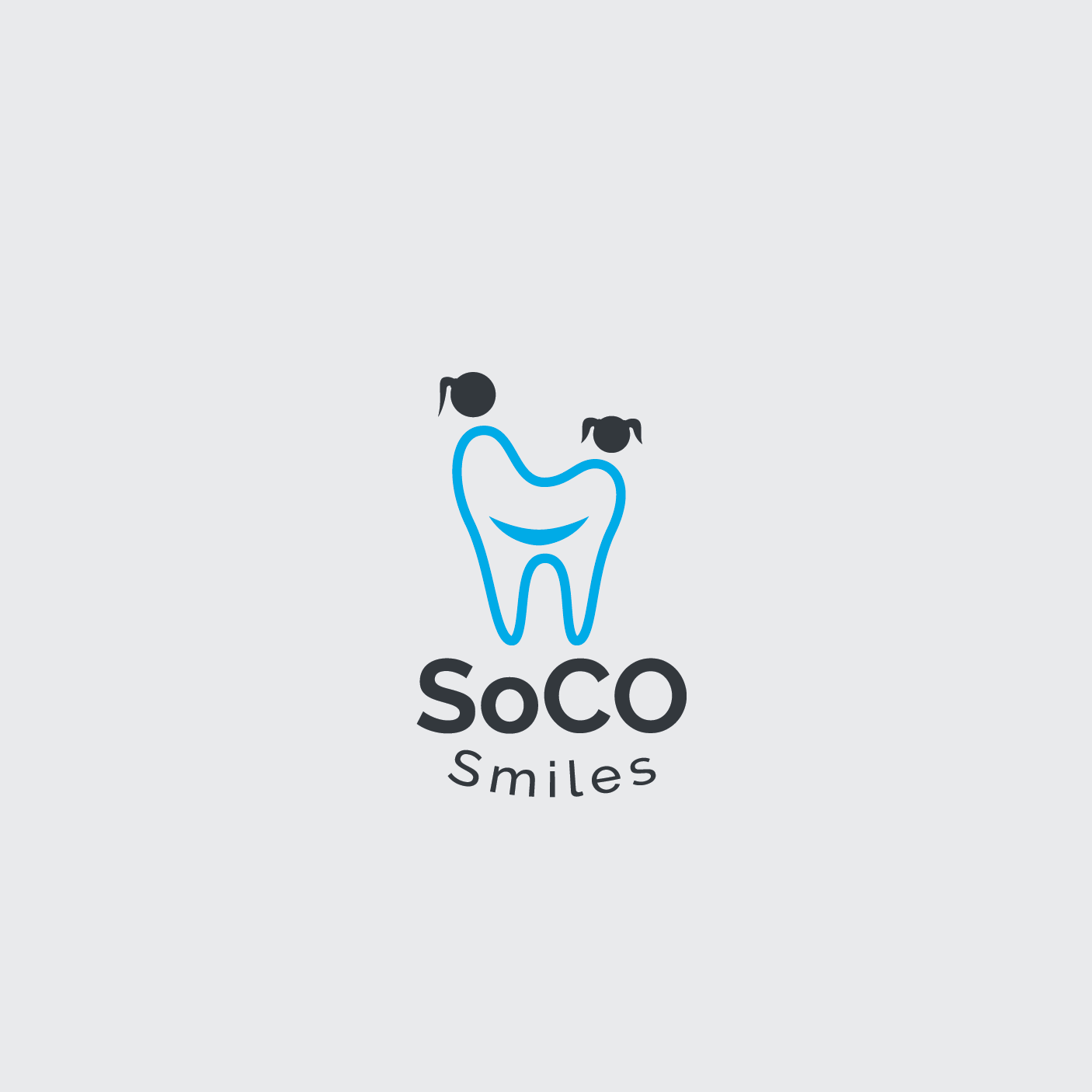 Logo Design by 354studio - Entry No. 41 in the Logo Design Contest Unique Logo Design Wanted for SoCO Smiles Orthodontics.