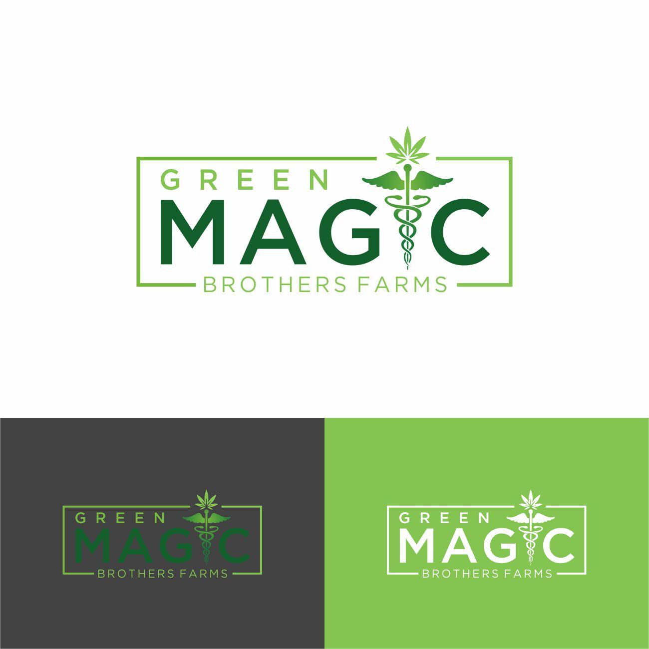 Logo Design by RasYa Muhammad Athaya - Entry No. 89 in the Logo Design Contest Green Brothers Farm Logo Design.