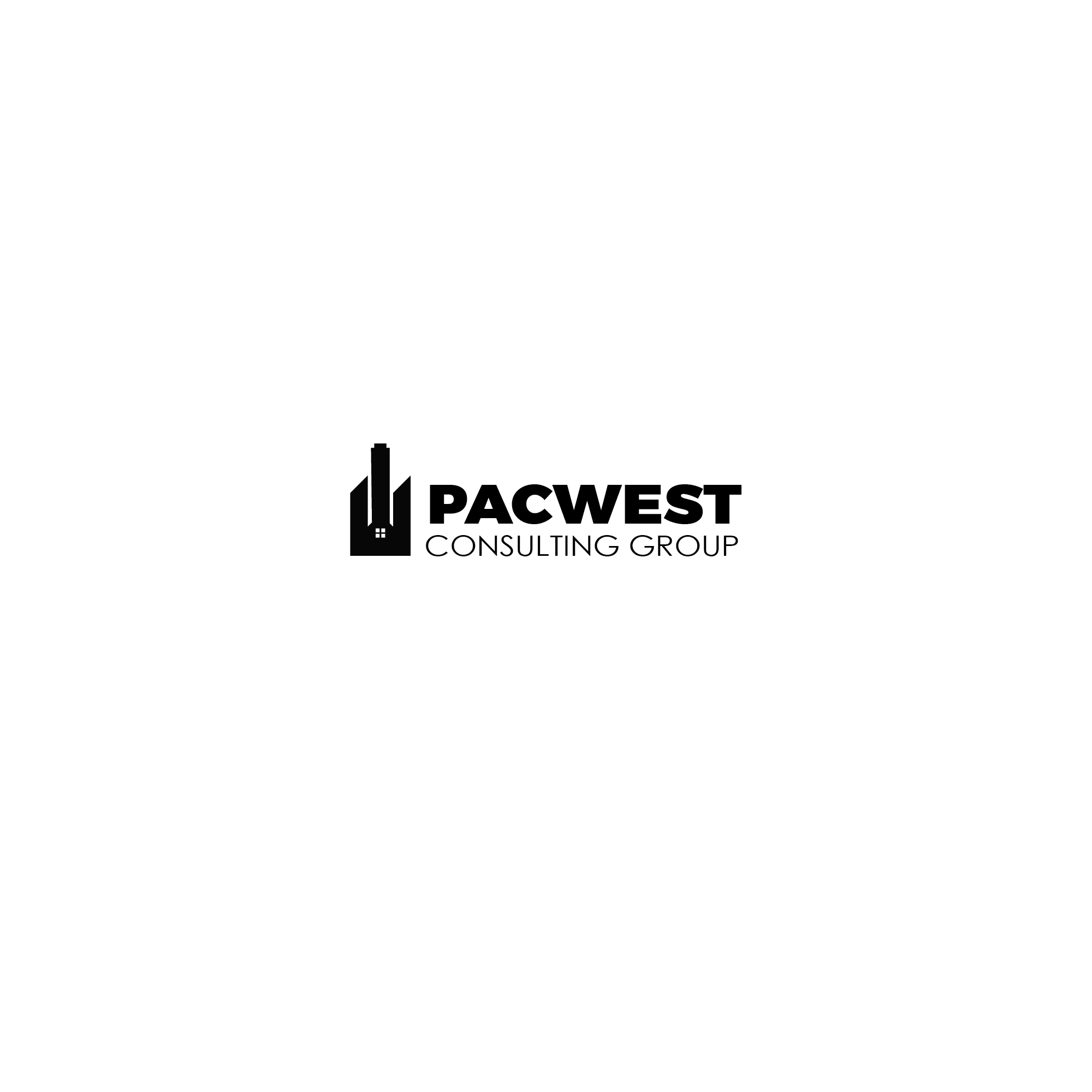 Logo Design by 354studio - Entry No. 30 in the Logo Design Contest Imaginative Logo Design for Pacwest Consulting Group.