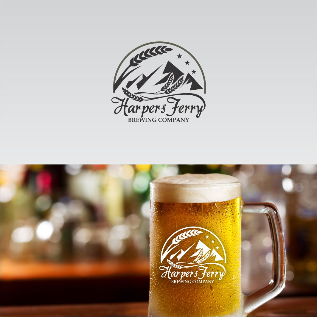 Logo Design by arteo_design - Entry No. 56 in the Logo Design Contest Unique Logo Design Wanted for Harpers ferry brewing company.