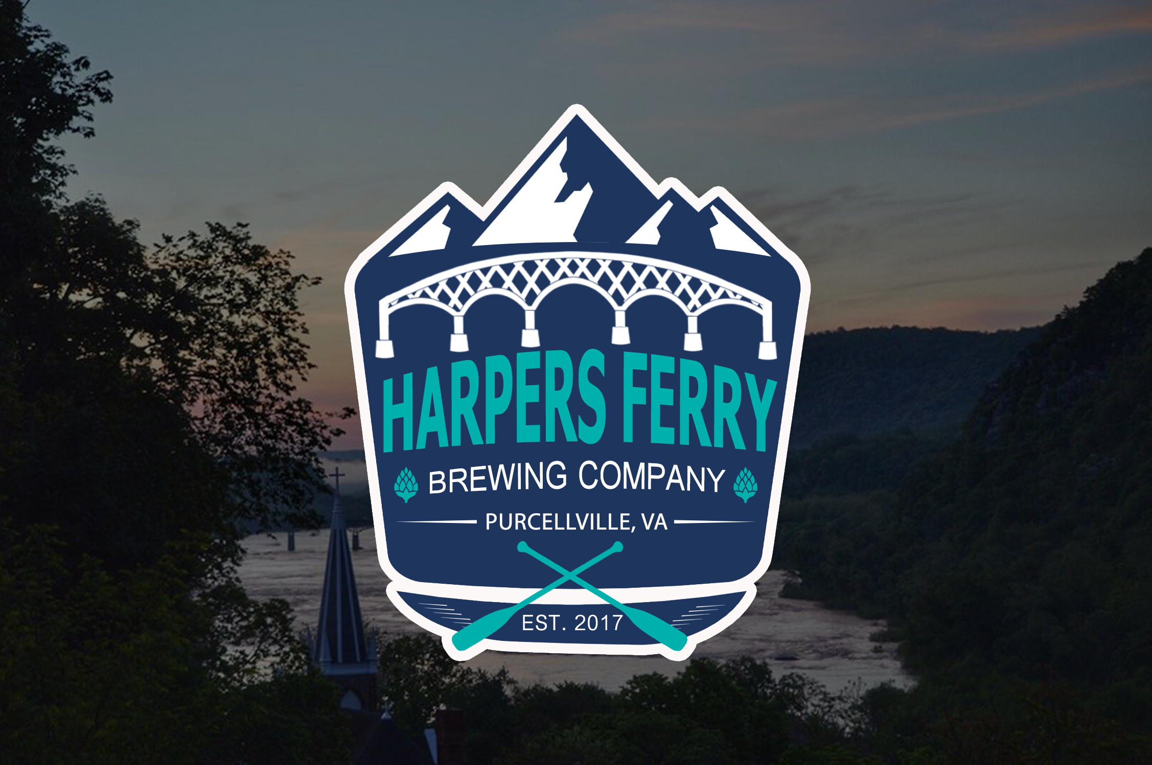 Logo Design by JSDESIGNGROUP - Entry No. 59 in the Logo Design Contest Unique Logo Design Wanted for Harpers ferry brewing company.