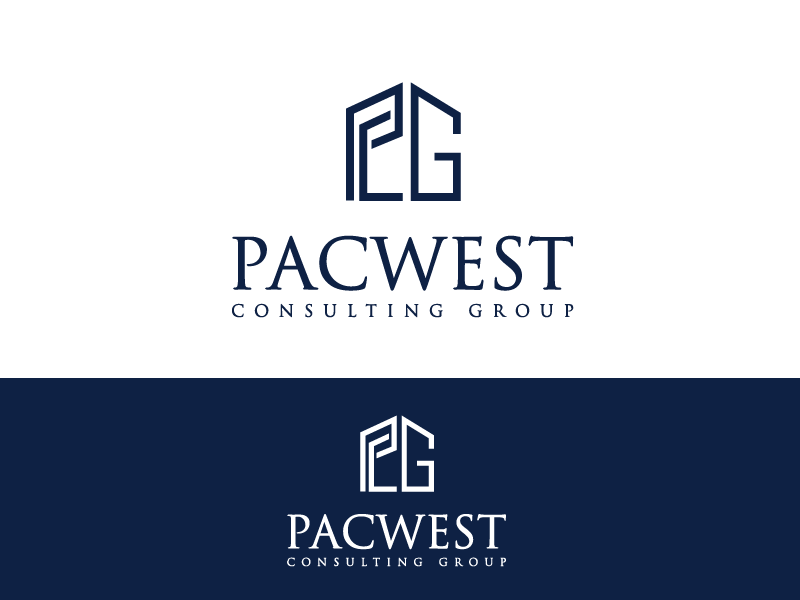 Logo Design by Private User - Entry No. 36 in the Logo Design Contest Imaginative Logo Design for Pacwest Consulting Group.