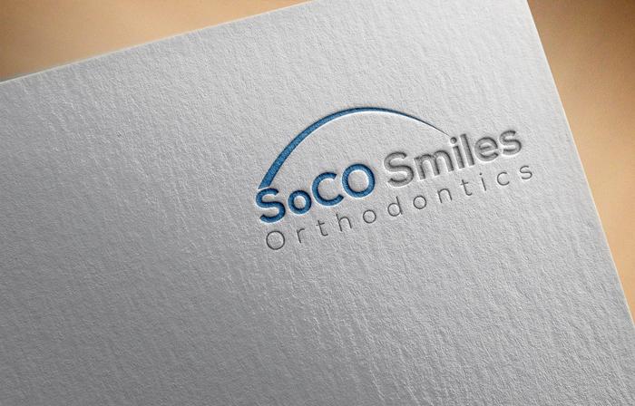 Logo Design by Mohammad azad Hossain - Entry No. 46 in the Logo Design Contest Unique Logo Design Wanted for SoCO Smiles Orthodontics.