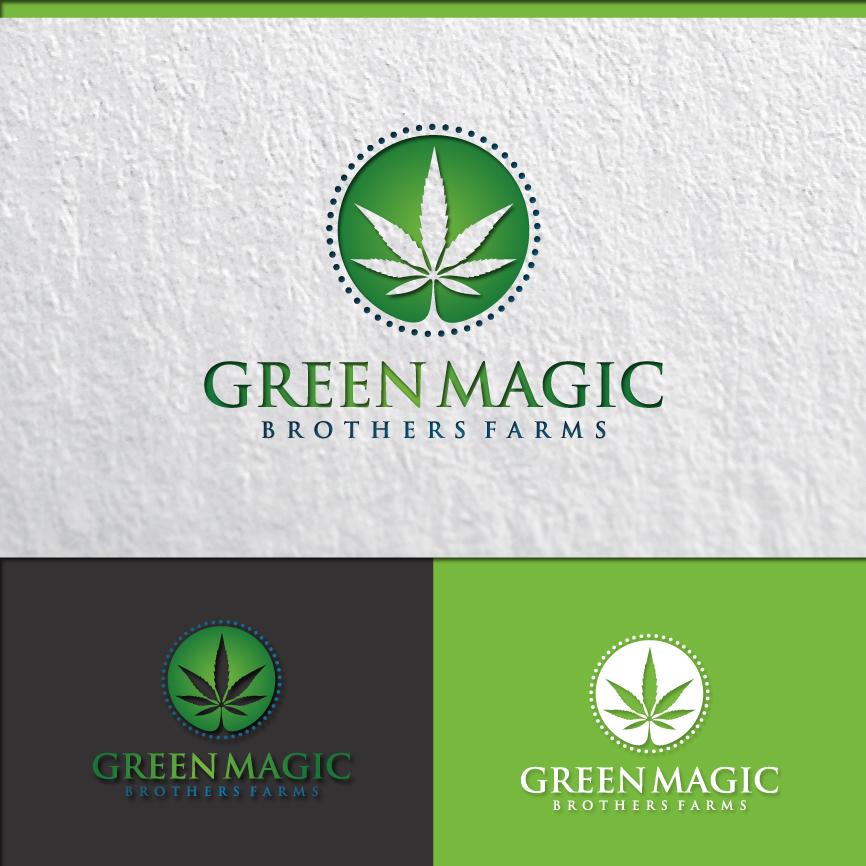Logo Design by RasYa Muhammad Athaya - Entry No. 94 in the Logo Design Contest Green Brothers Farm Logo Design.
