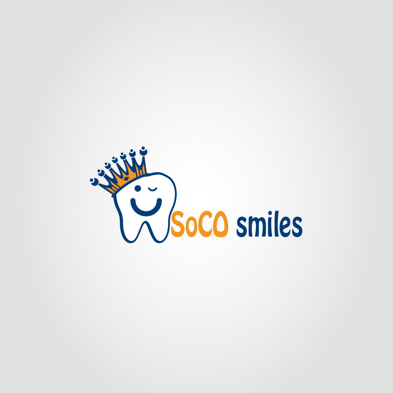Logo Design by Private User - Entry No. 49 in the Logo Design Contest Unique Logo Design Wanted for SoCO Smiles Orthodontics.