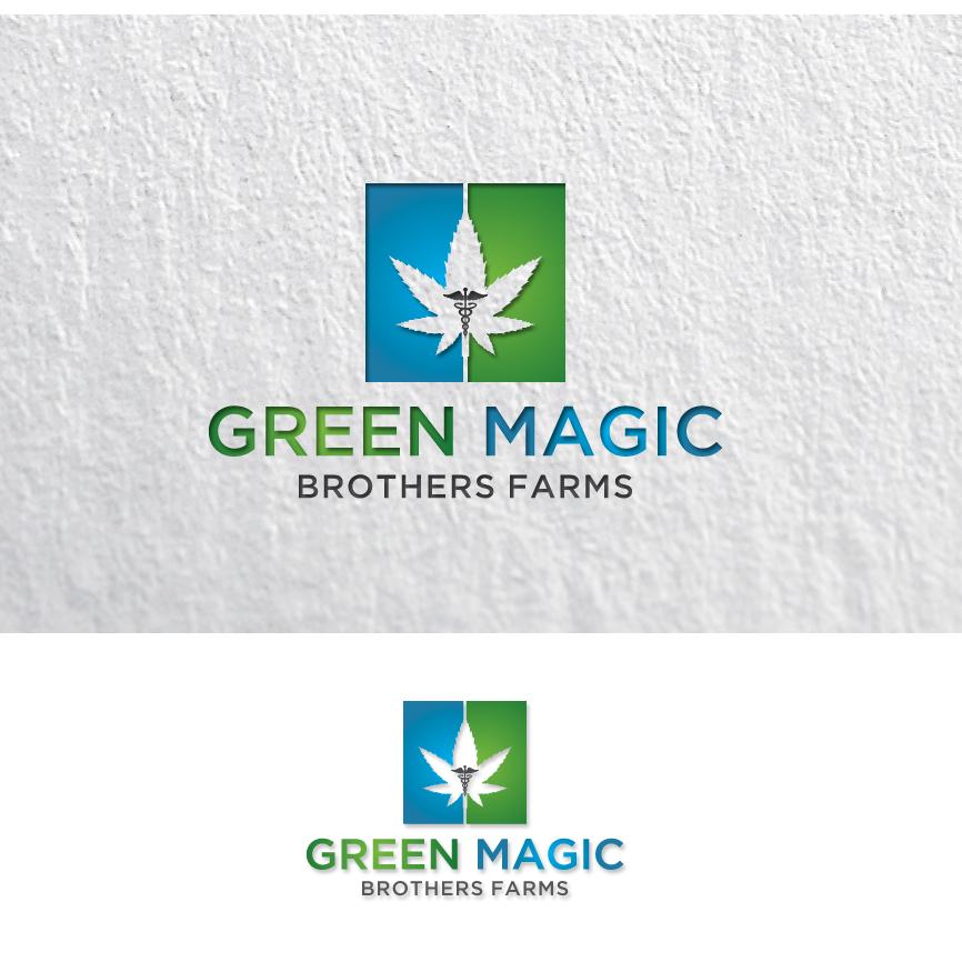 Logo Design by RasYa Muhammad Athaya - Entry No. 98 in the Logo Design Contest Green Brothers Farm Logo Design.