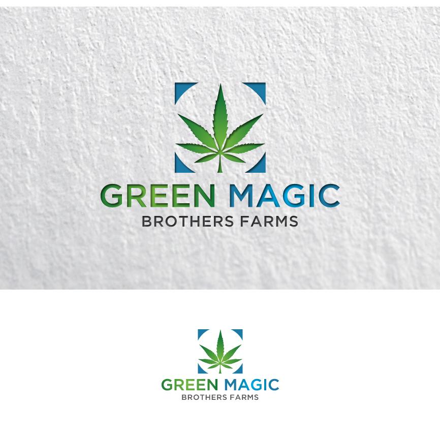 Logo Design by RasYa Muhammad Athaya - Entry No. 99 in the Logo Design Contest Green Brothers Farm Logo Design.