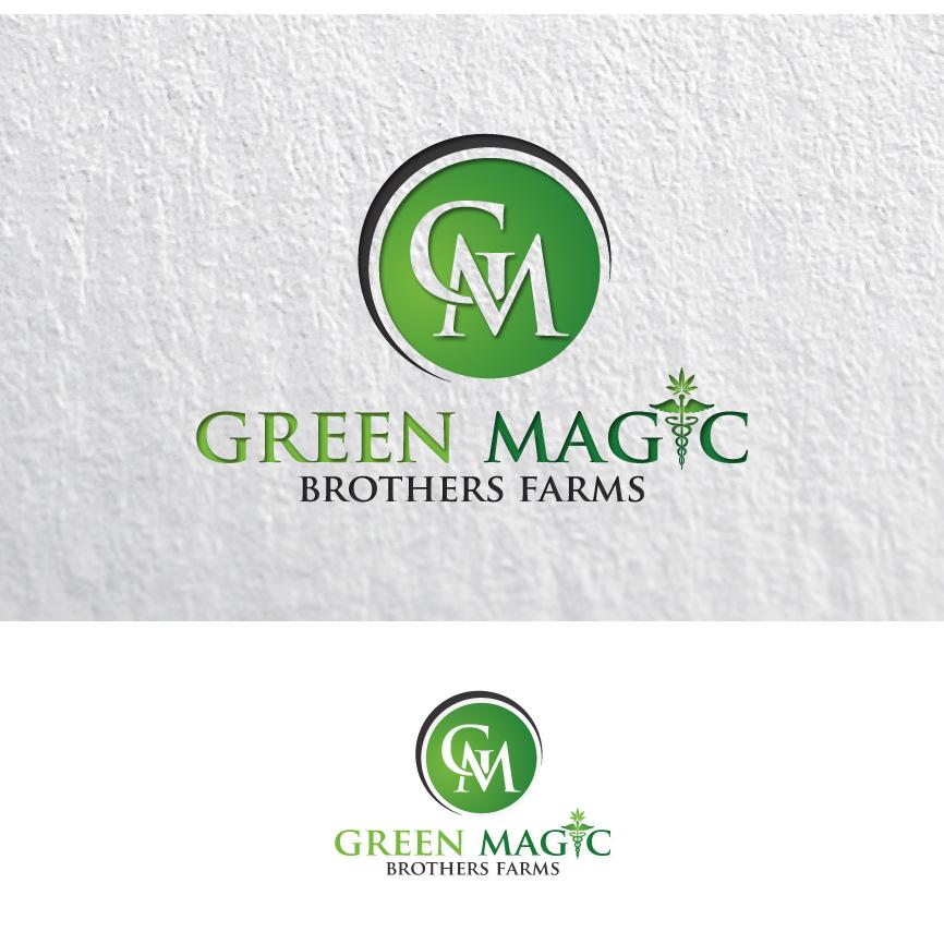 Logo Design by RasYa Muhammad Athaya - Entry No. 100 in the Logo Design Contest Green Brothers Farm Logo Design.