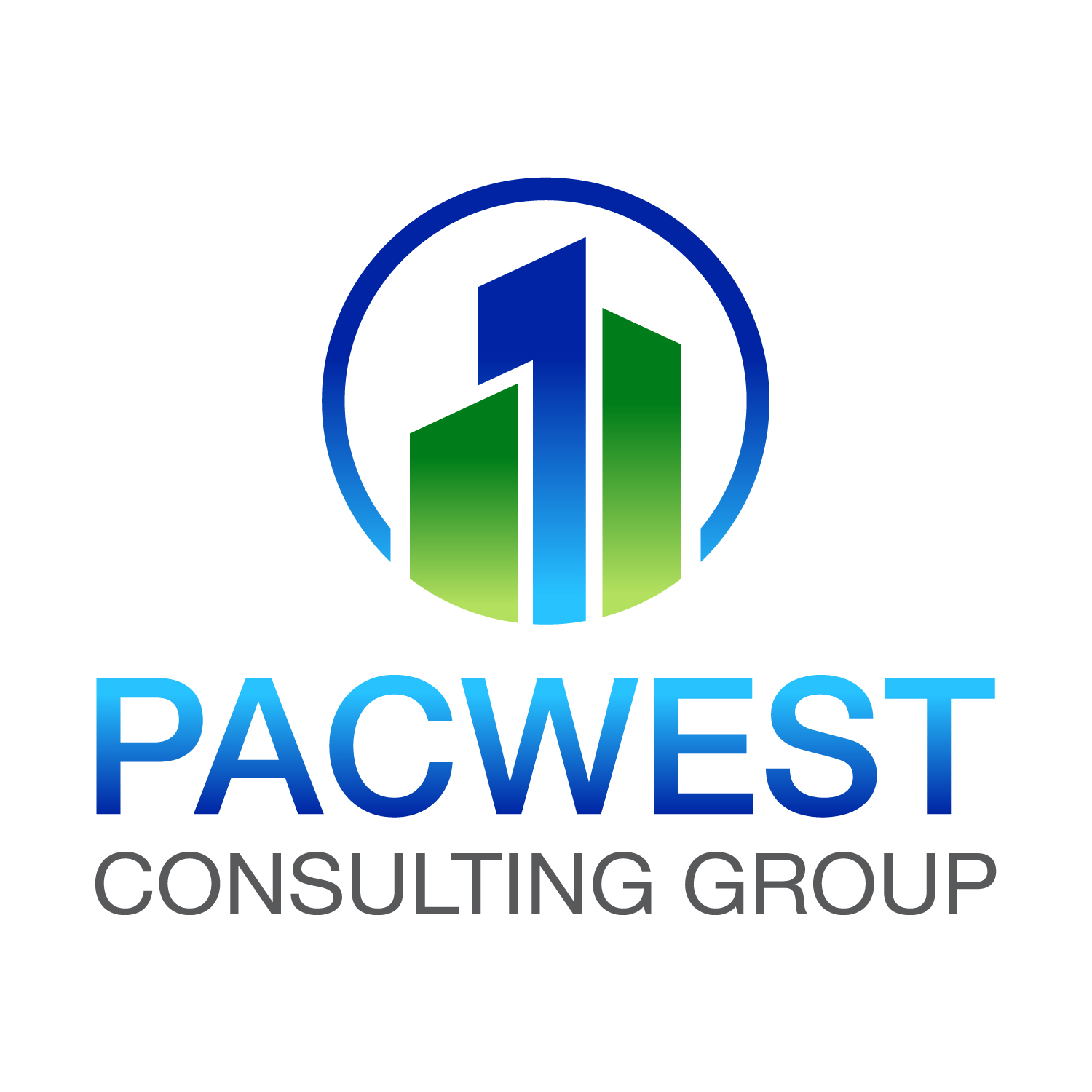 Logo Design by Karlo Garcia - Entry No. 39 in the Logo Design Contest Imaginative Logo Design for Pacwest Consulting Group.