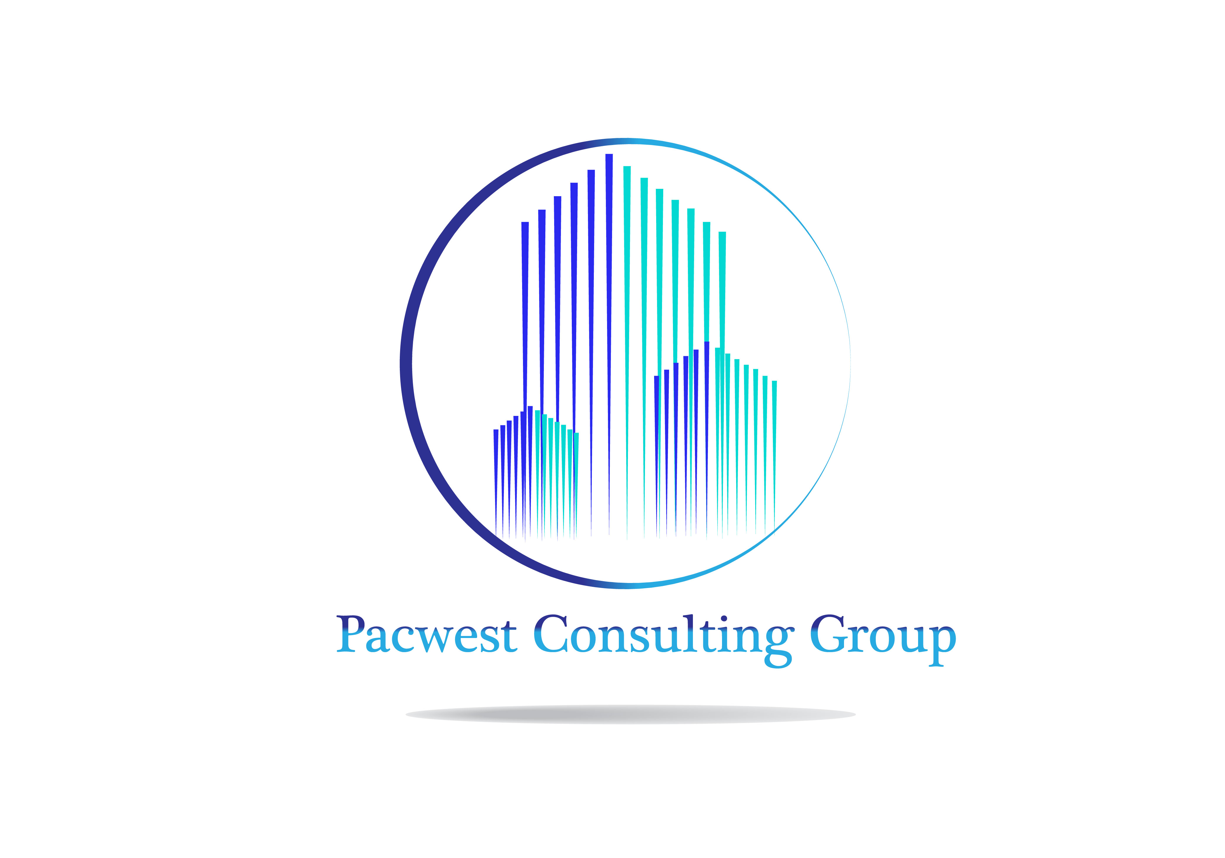 Logo Design by Bilal Baloch - Entry No. 40 in the Logo Design Contest Imaginative Logo Design for Pacwest Consulting Group.