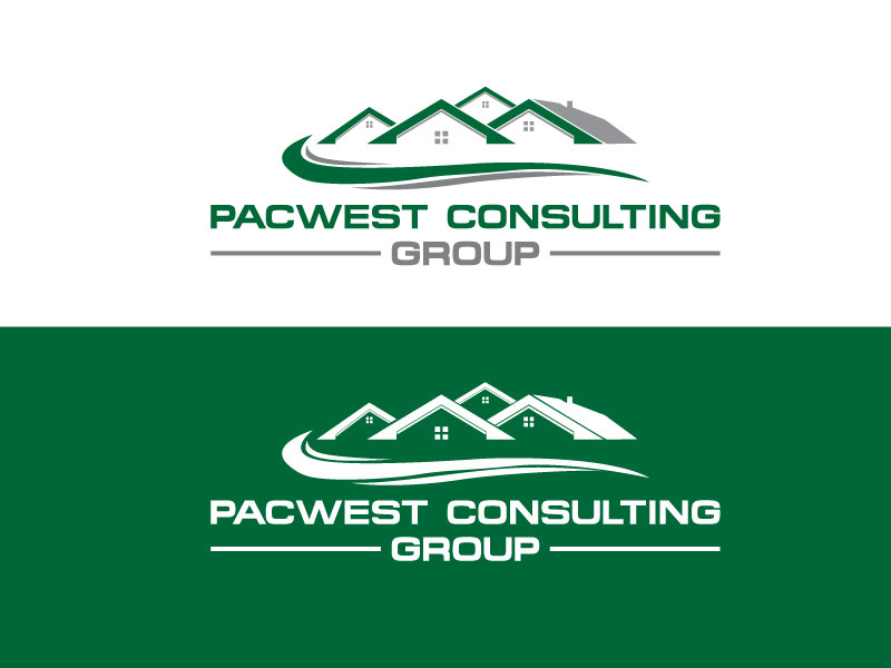 Logo Design by Private User - Entry No. 42 in the Logo Design Contest Imaginative Logo Design for Pacwest Consulting Group.