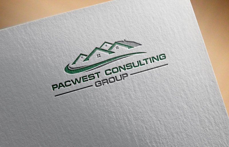 Logo Design by Private User - Entry No. 43 in the Logo Design Contest Imaginative Logo Design for Pacwest Consulting Group.